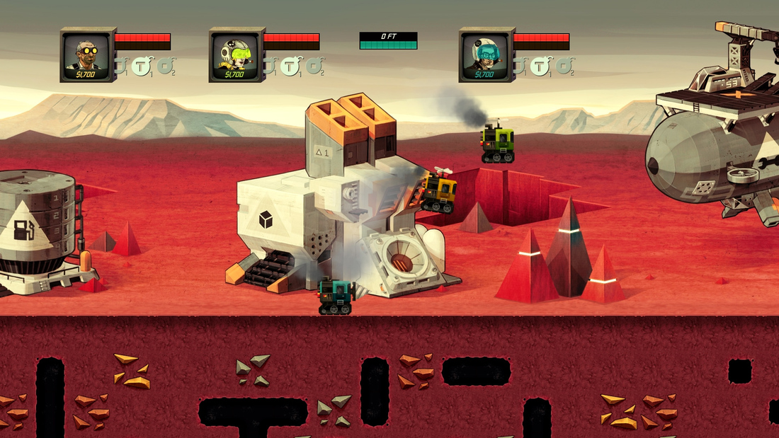 Super Motherload unloading to PlayStation 4 and PlayStation 3 later this year