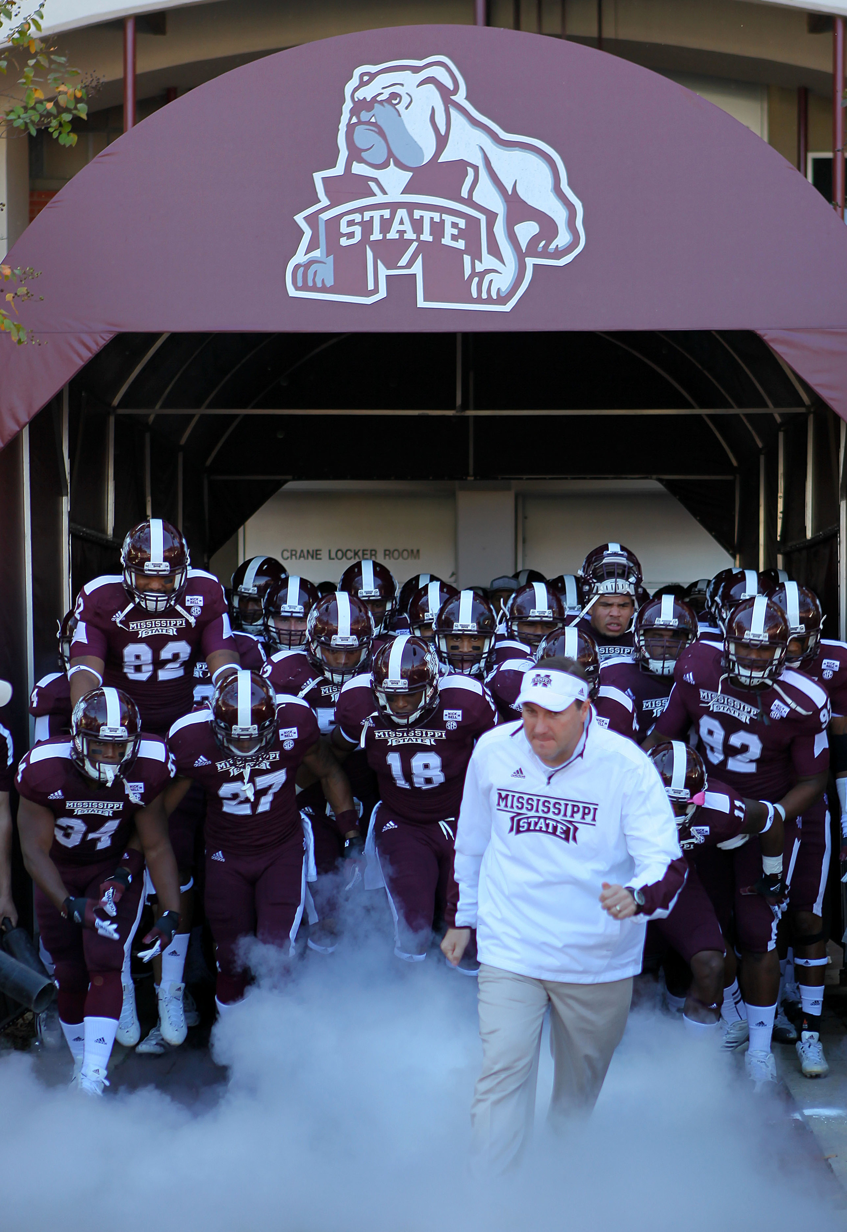 It looks unlikely that Mississippi State fans will watch Cord Sandberg charge onto Scott Field.