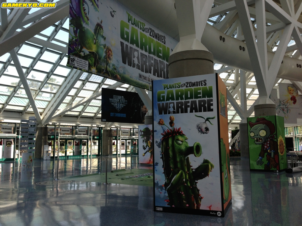 Plants vs. Zombies: Garden Warfare leaked through E3 promotional materials