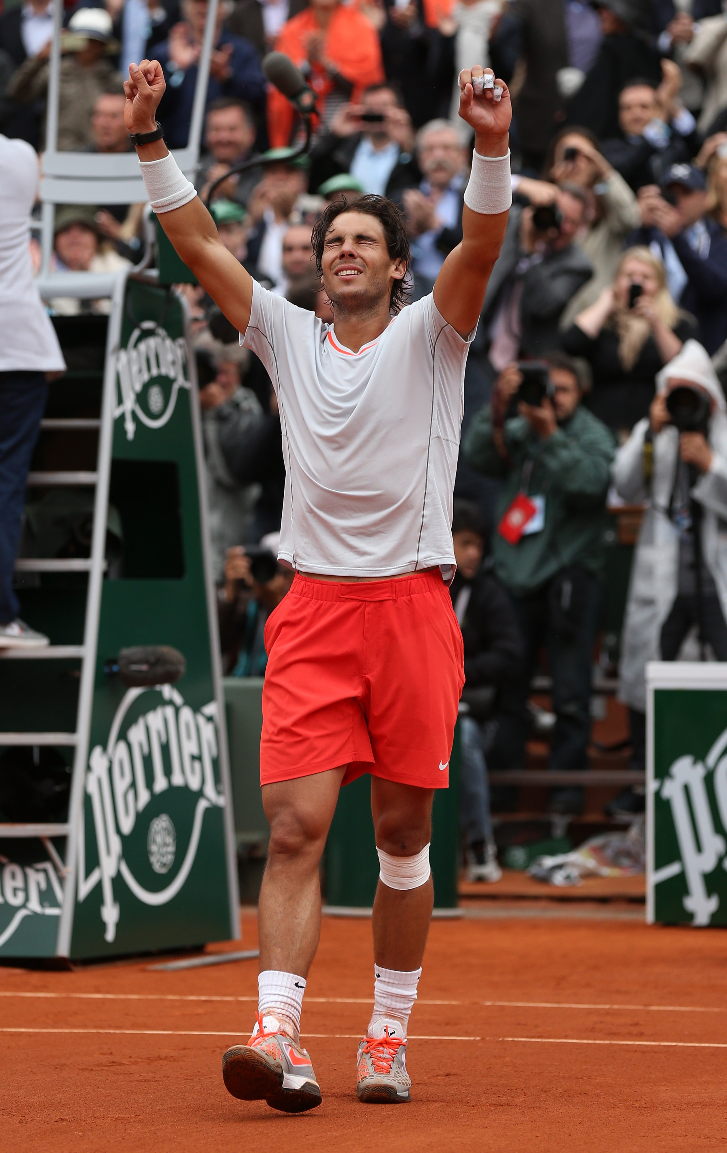 French Open results 2013: Rafael Nadal bests David Ferrer en route to 8th title at Roland Garros