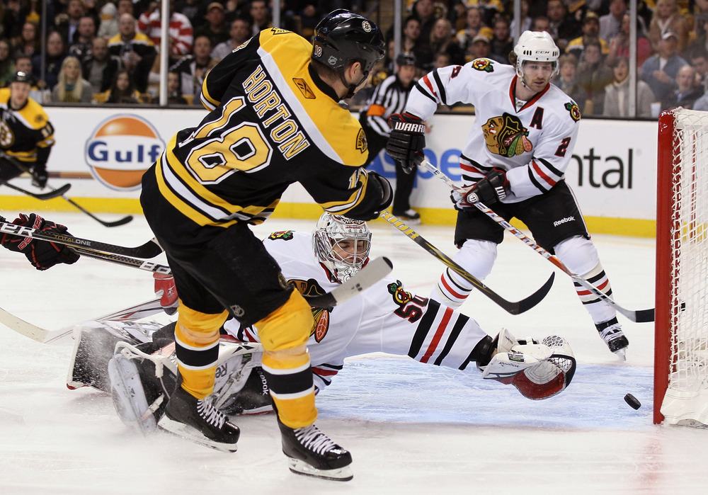 Duncan Keith and Nathan Horton will soon fight it out for the Silver Seven crown.