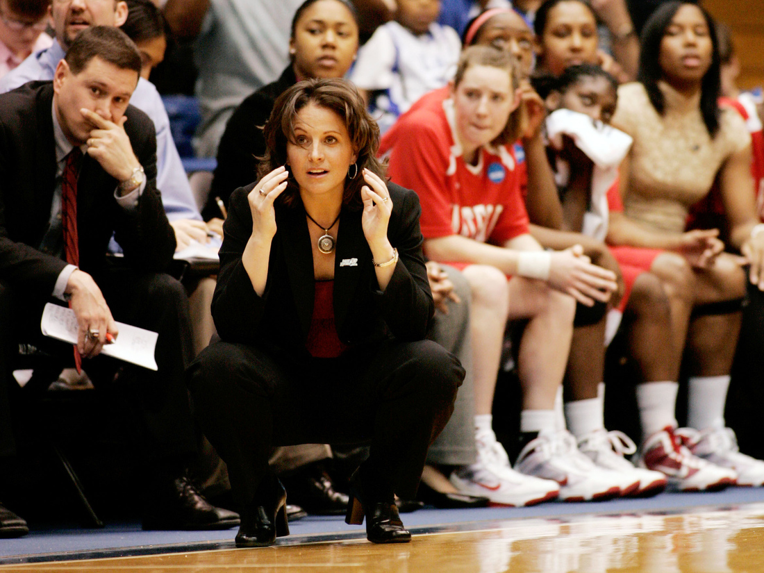 Jennifer Rizzotti led UConn to its first national title in 1995 and is now a coach at the University of Hartford.