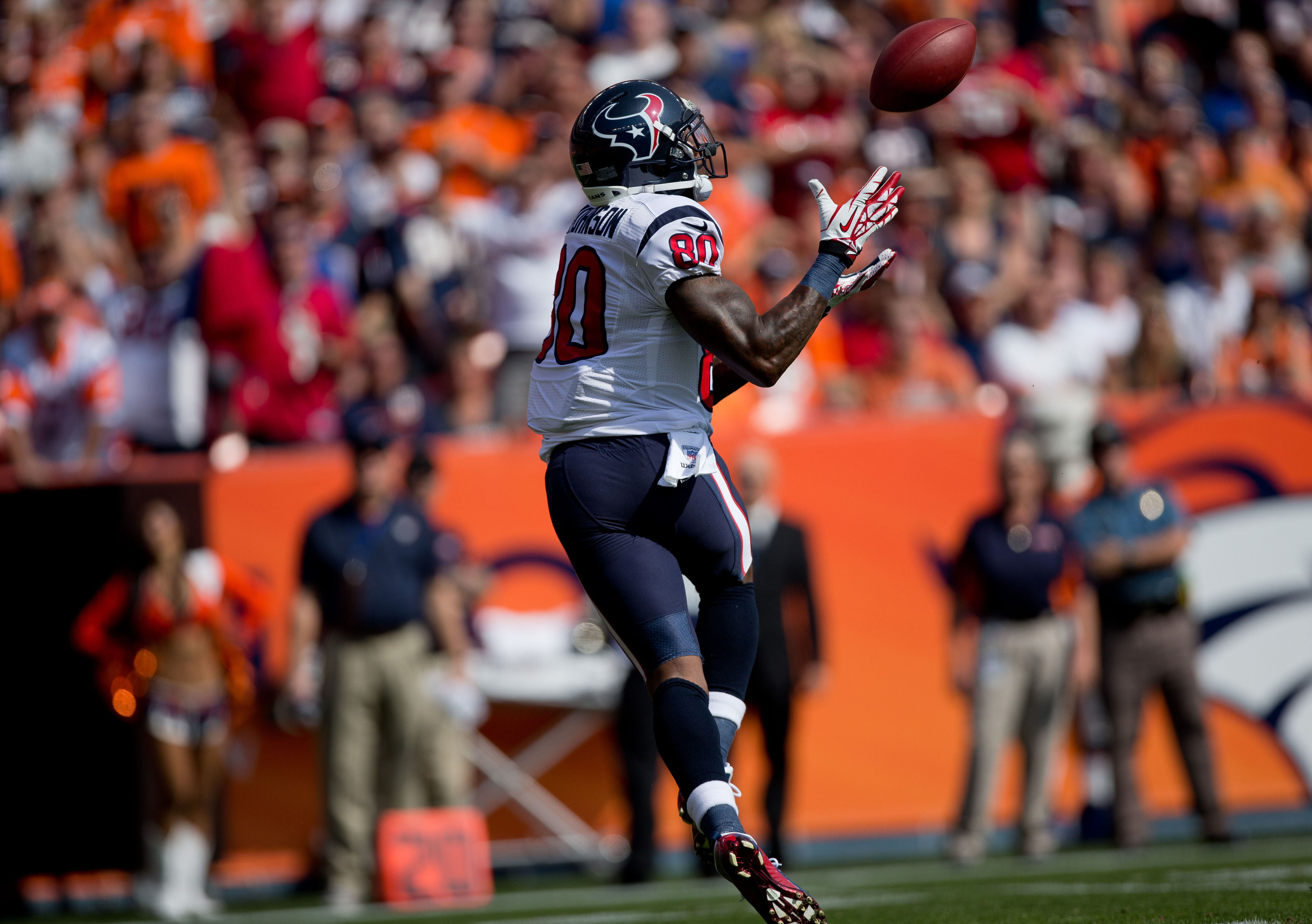 Andre Johnson, The Great One, making the catch on the play broken down below.