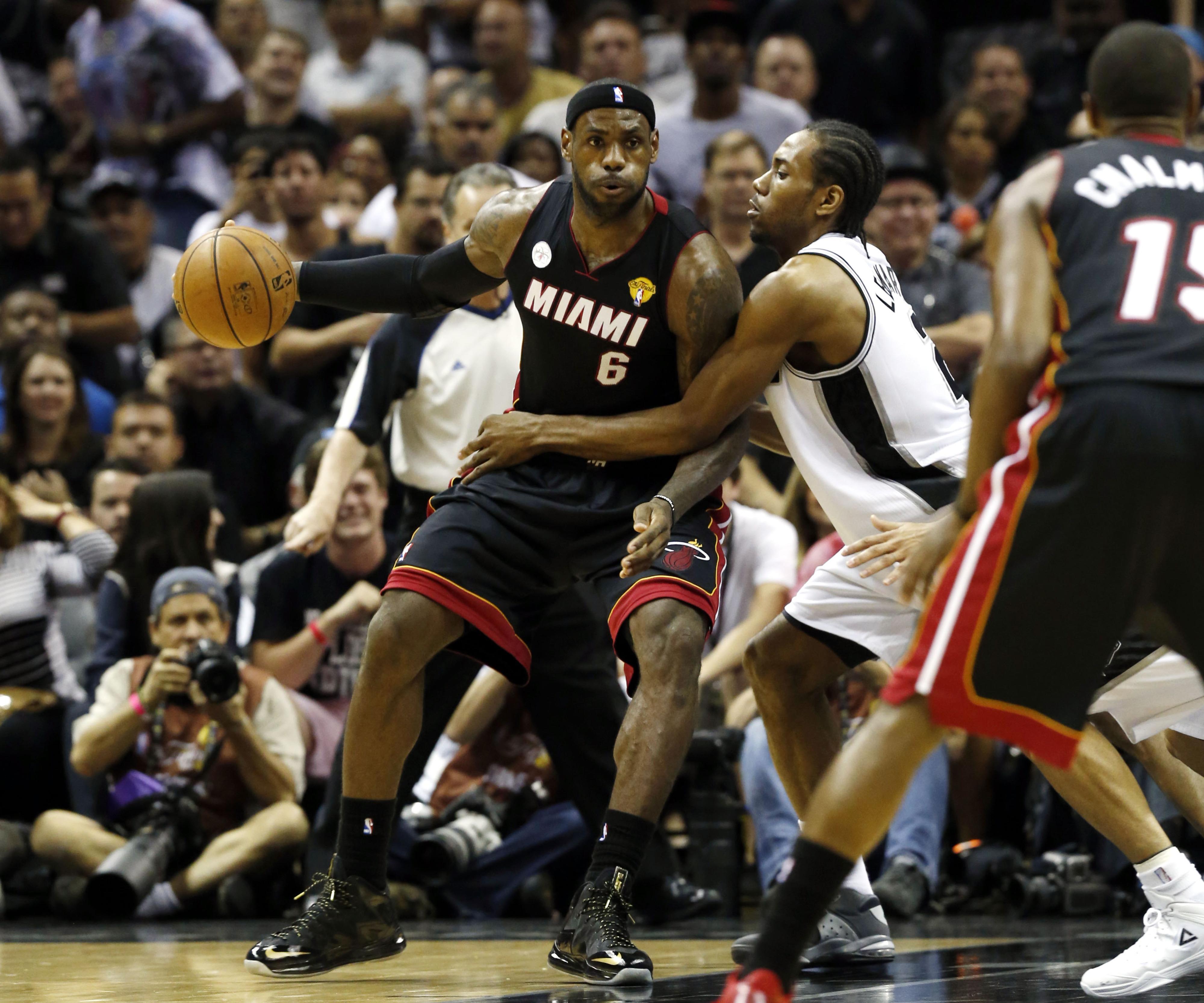 Heat vs. Spurs score update, NBA Finals Game 4: Spurs and Heat tied 49-49 through first half