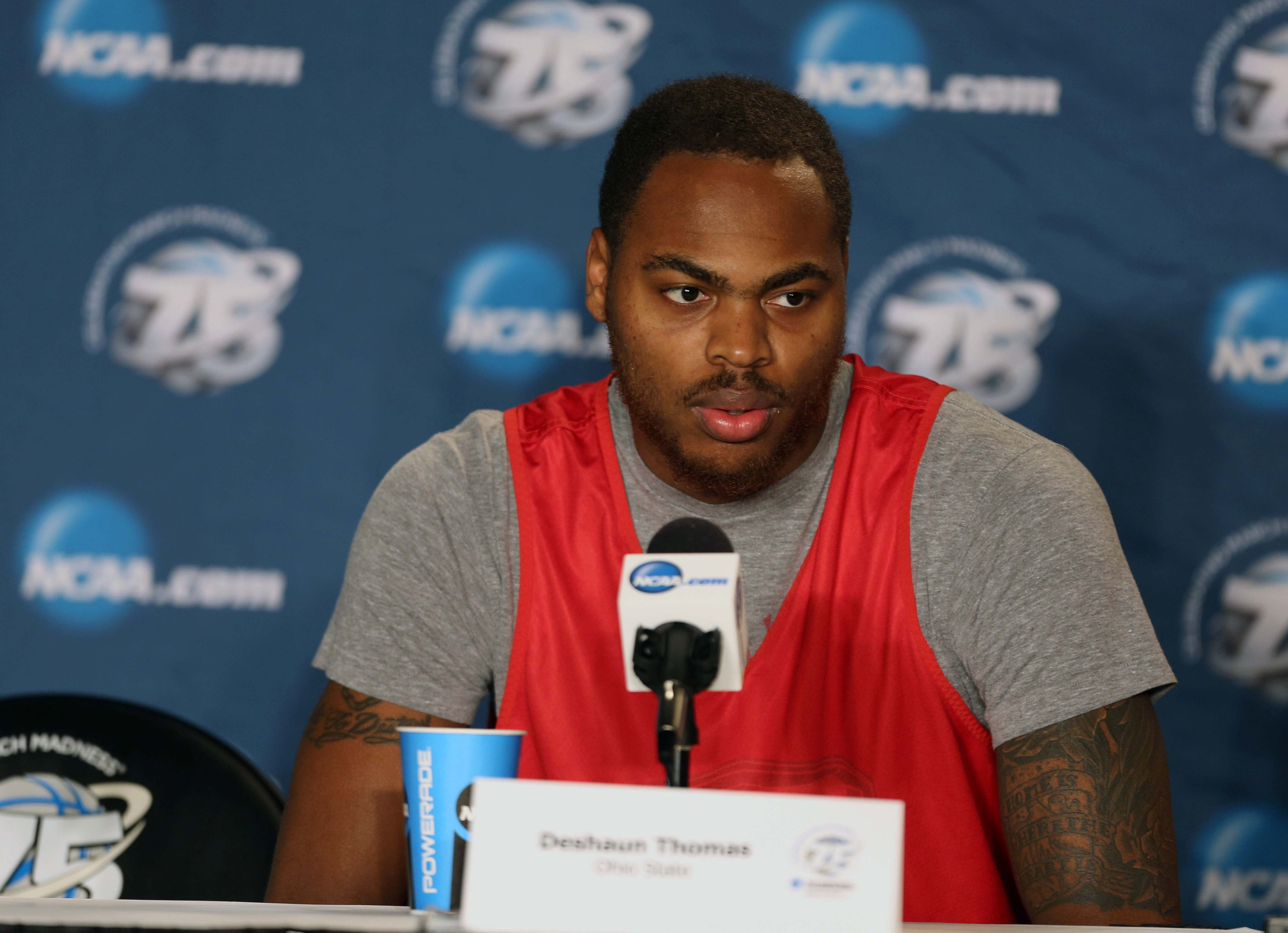 Will Fort Wayne native, DeShaun Thomas pull the major upset and move on?
