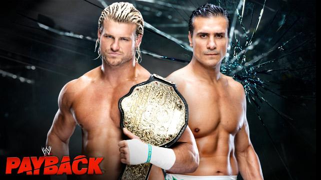 Dolph Ziggler vs. Alberto Del Rio tonight at WWE Payback