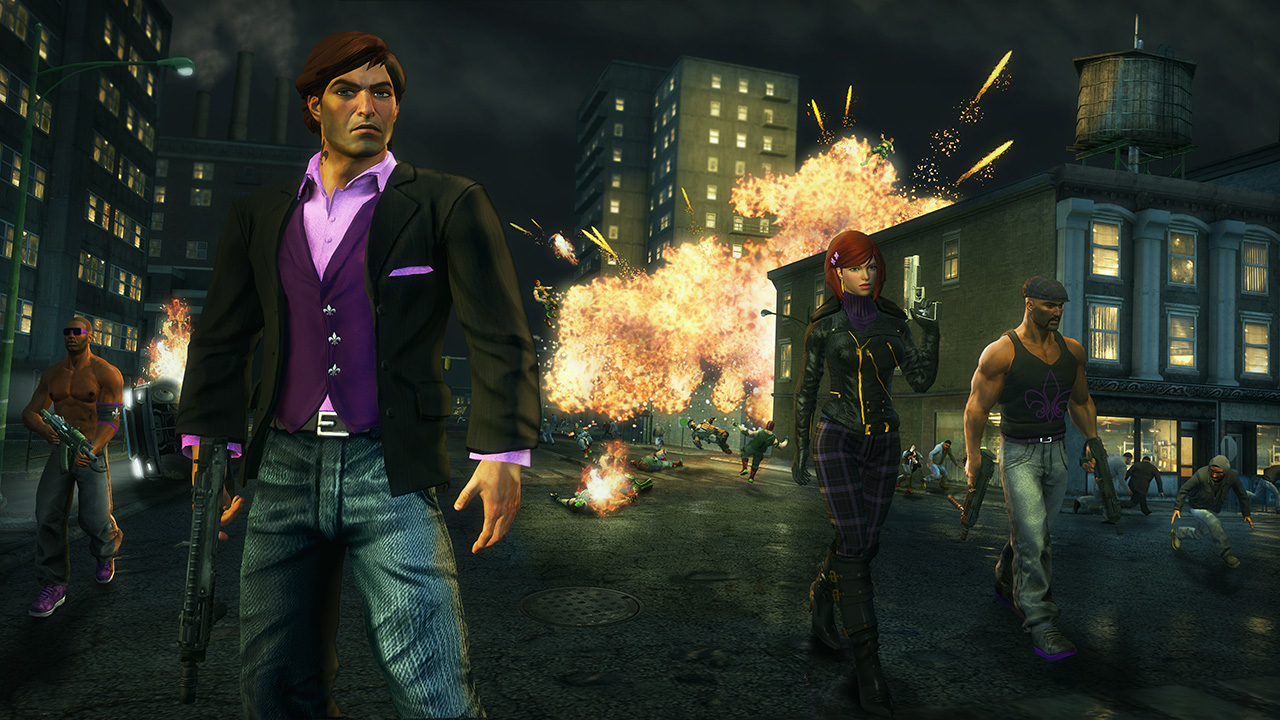 Saints Row: The Third, Gods Eater Burst free on PlayStation Plus starting this week