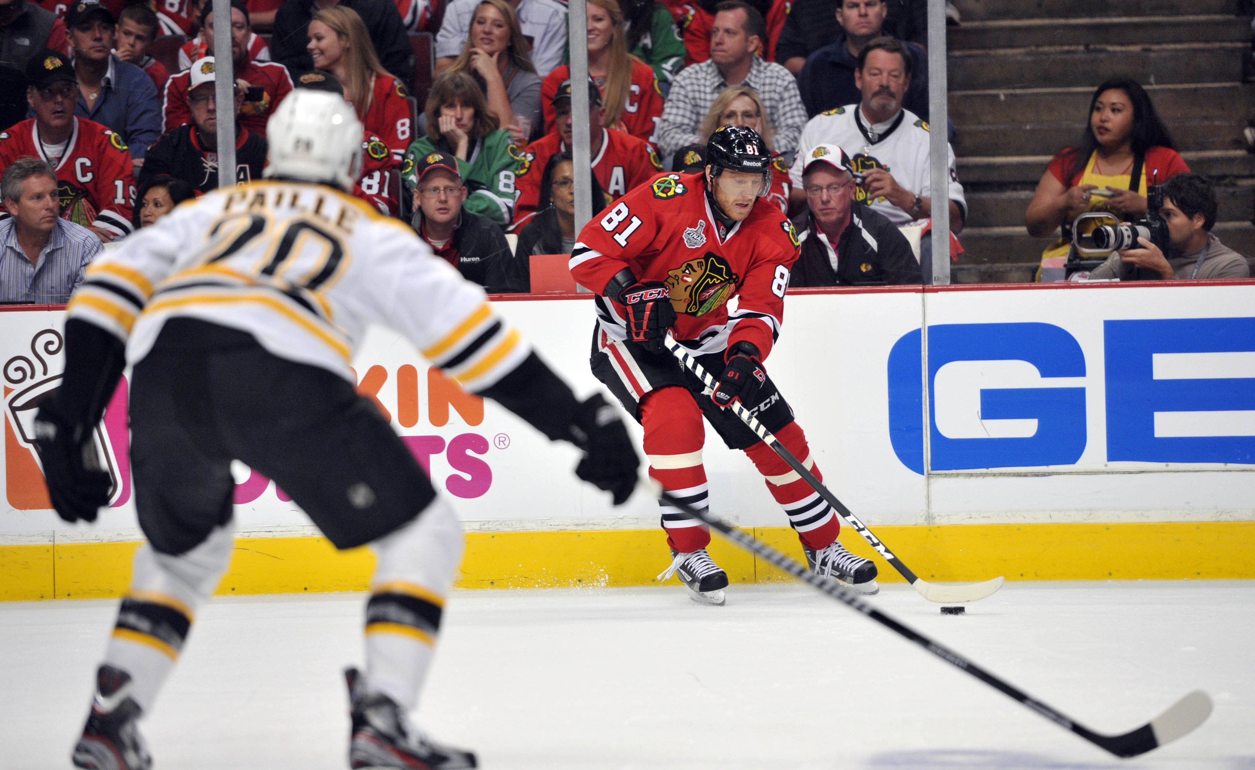 Stanley Cup Final 2013: Marian Hossa 'expected' to play, Jonathan Toews reunited with Patrick Kane