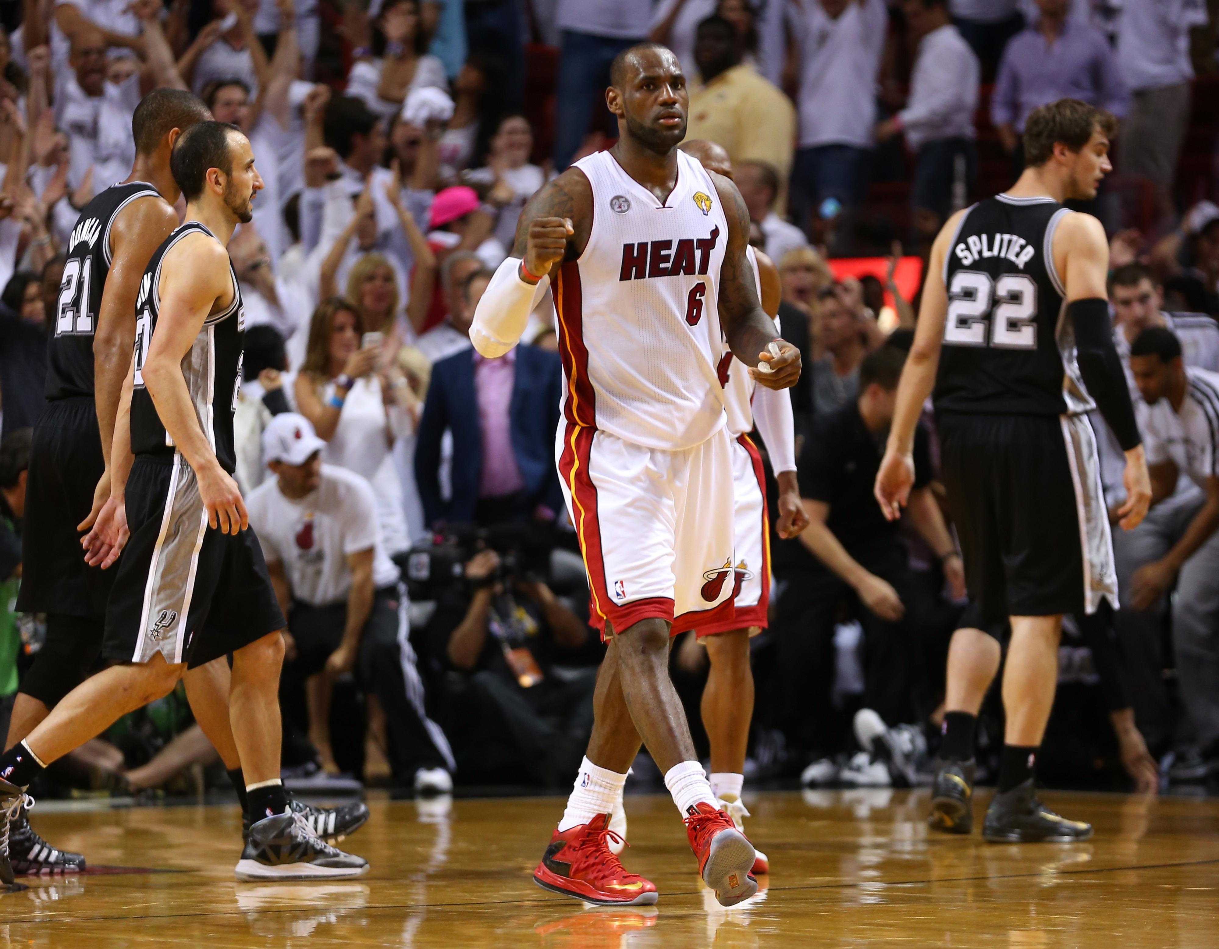 NBA Finals 2013: Comparing Miami's 3 Finals runs