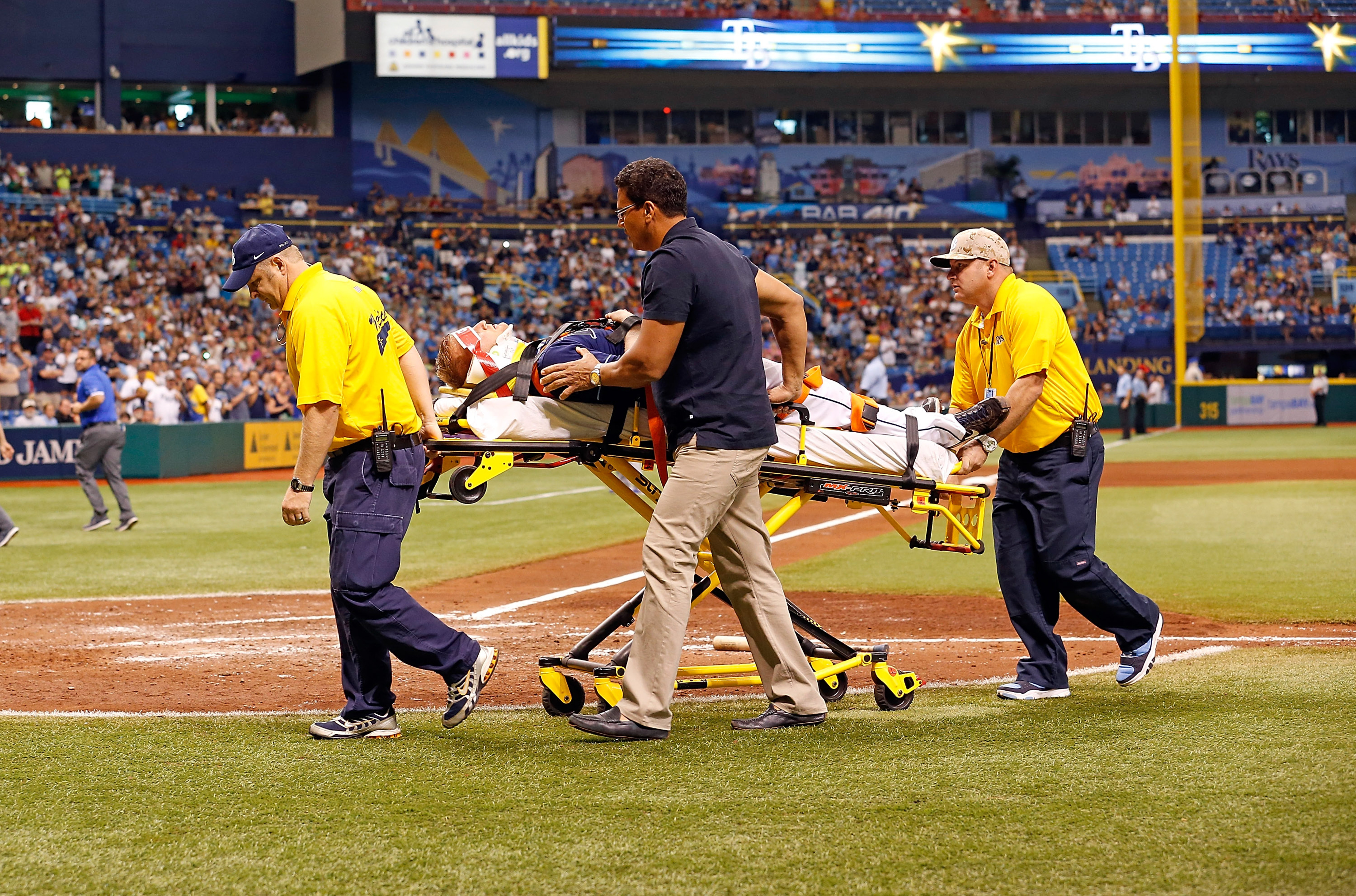 Alex Cobb injury: Rays RHP has fluid buildup in ear, no timetable for return
