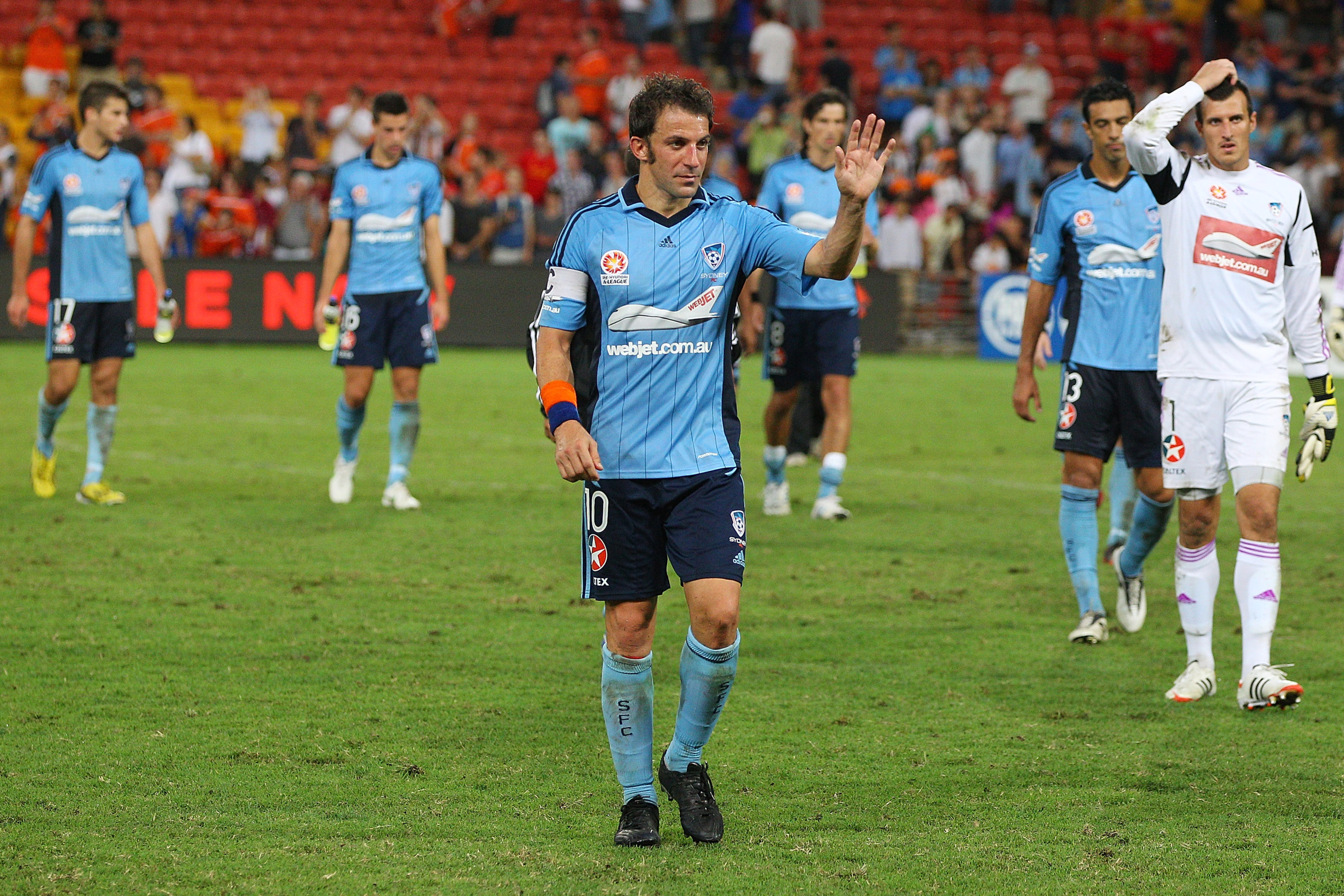 Del Piero will lead A-League All-Stars against Manchester United in July