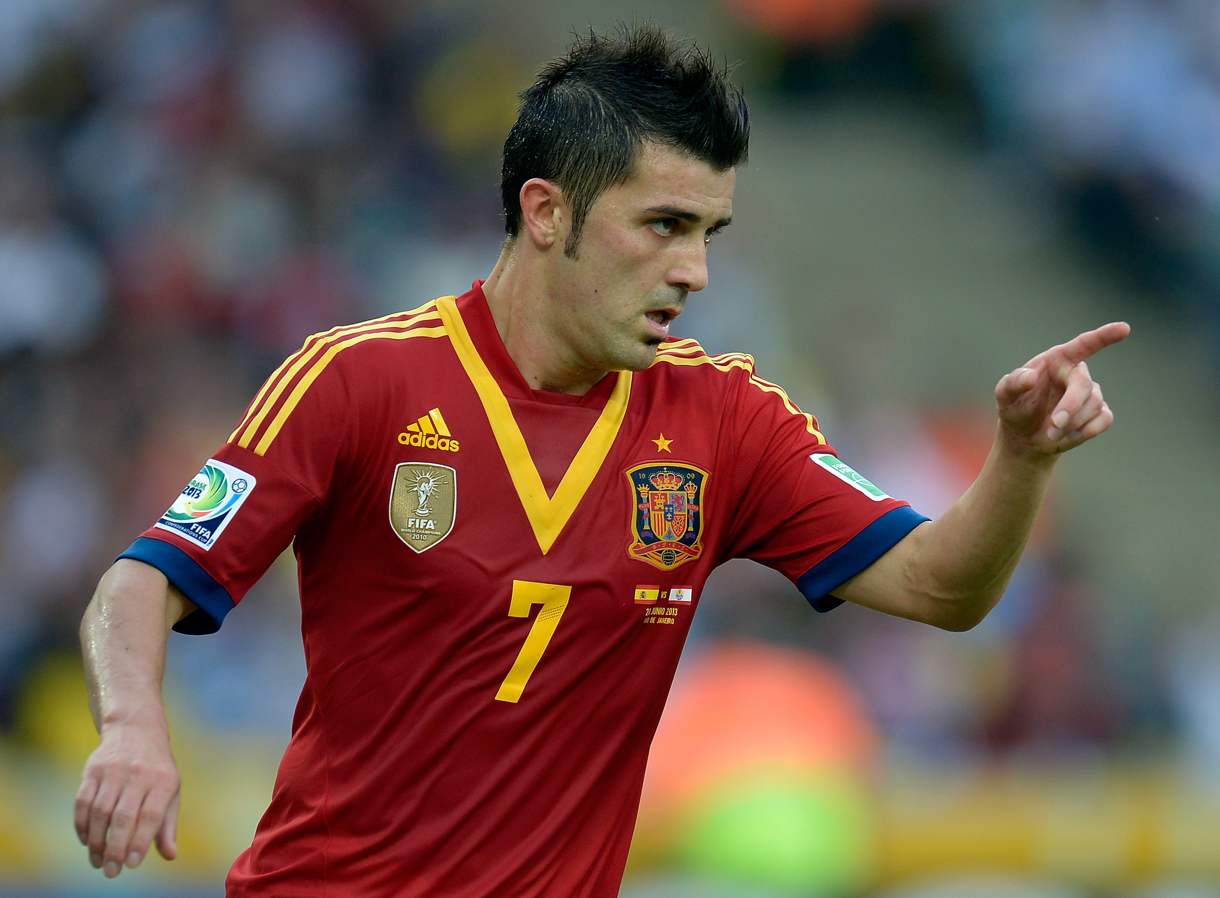 Spain vs. Tahiti, 2013 Confederations Cup: Final score 10-0, which is really unfortunate