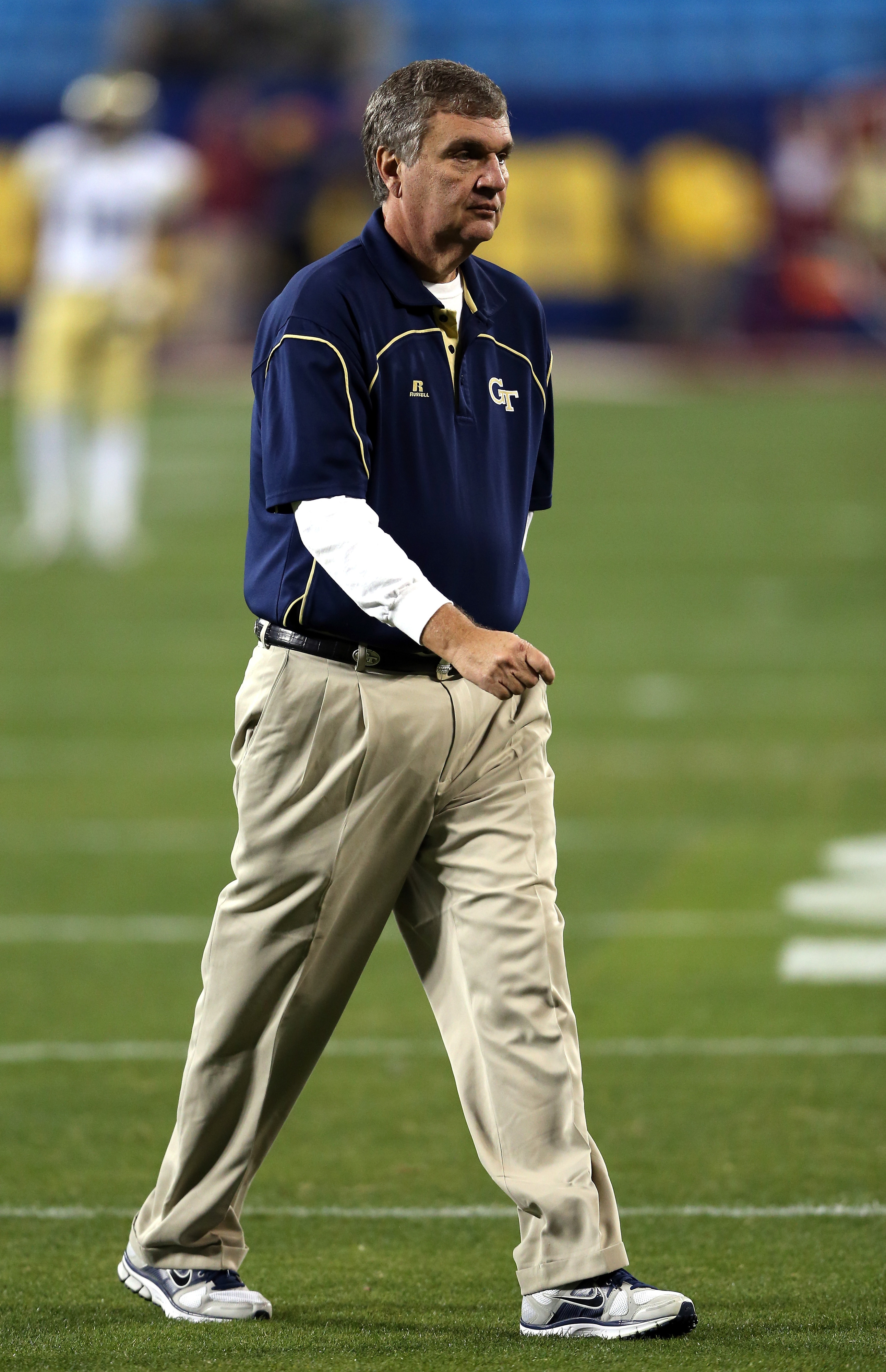 Hopefully the freshmen realize what high expectations this man has for them.