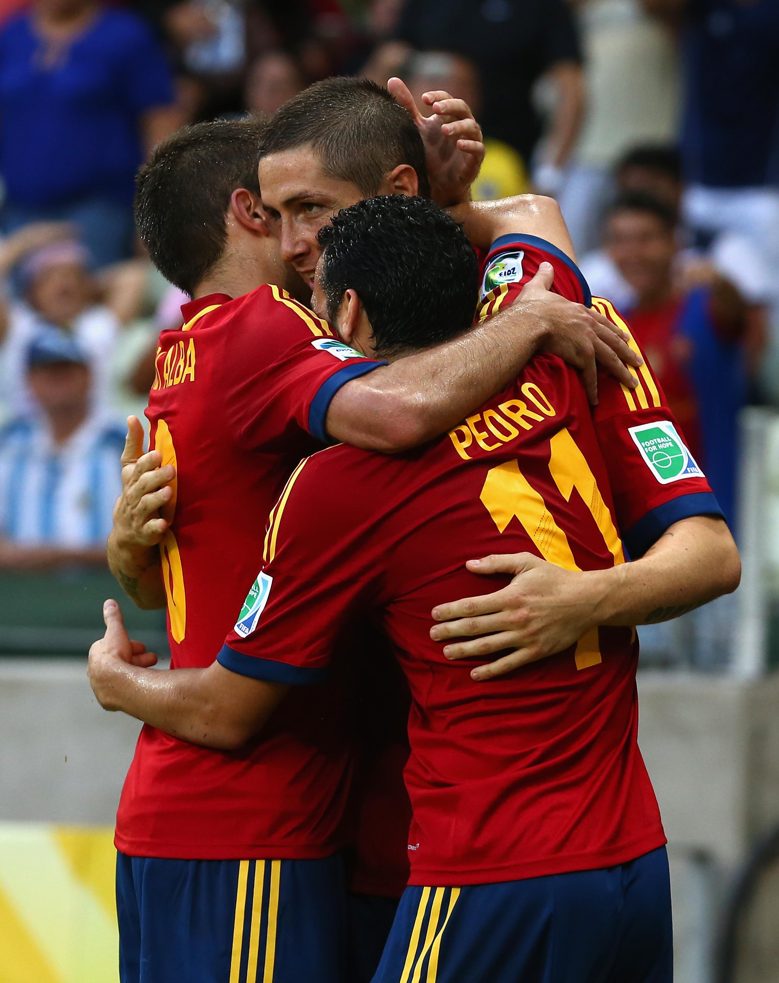 Confederations Cup 2013: Spain, Uruguay advance to set semifinals