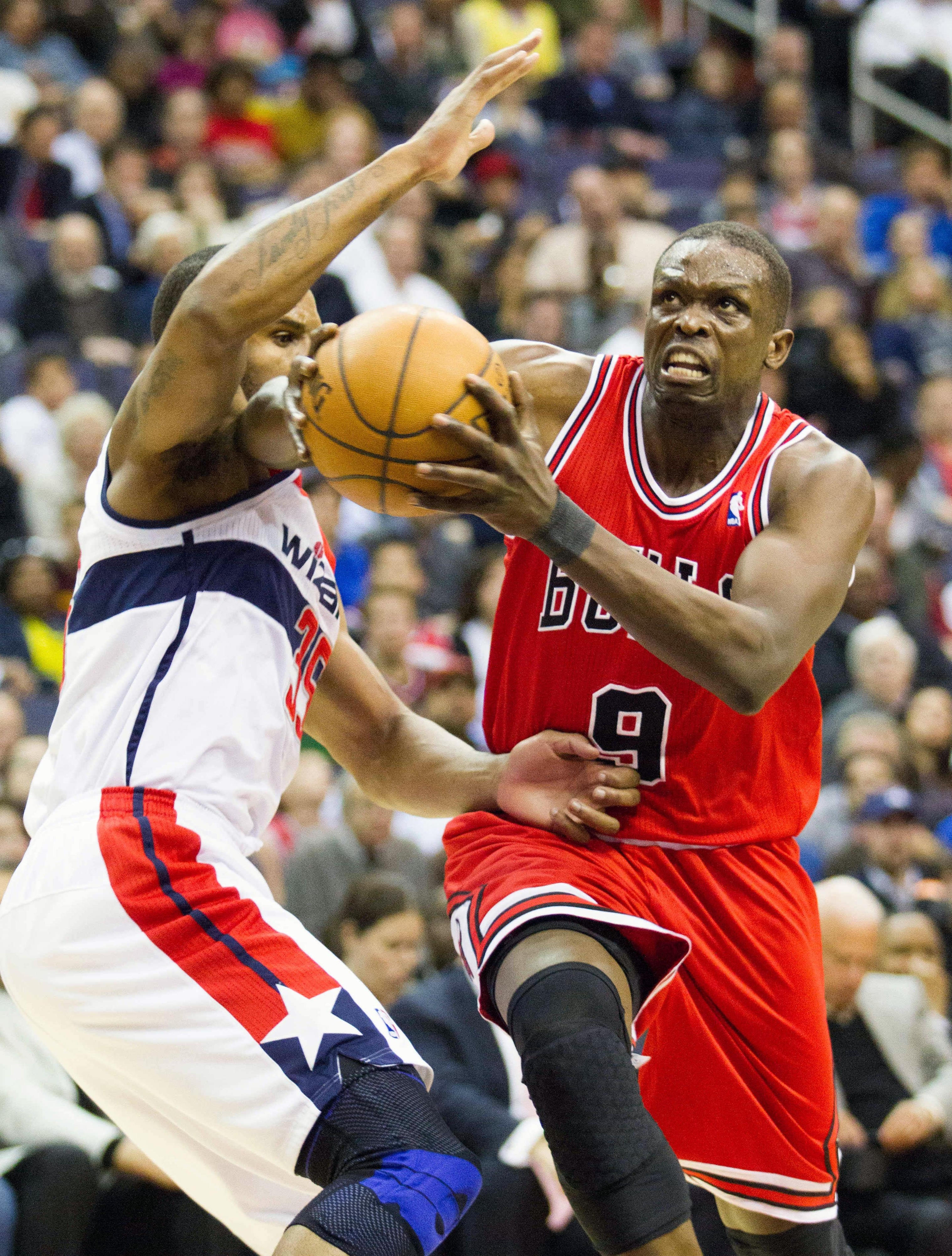 Luol Deng trade for Wizards' 3rd draft pick discussed, according to report