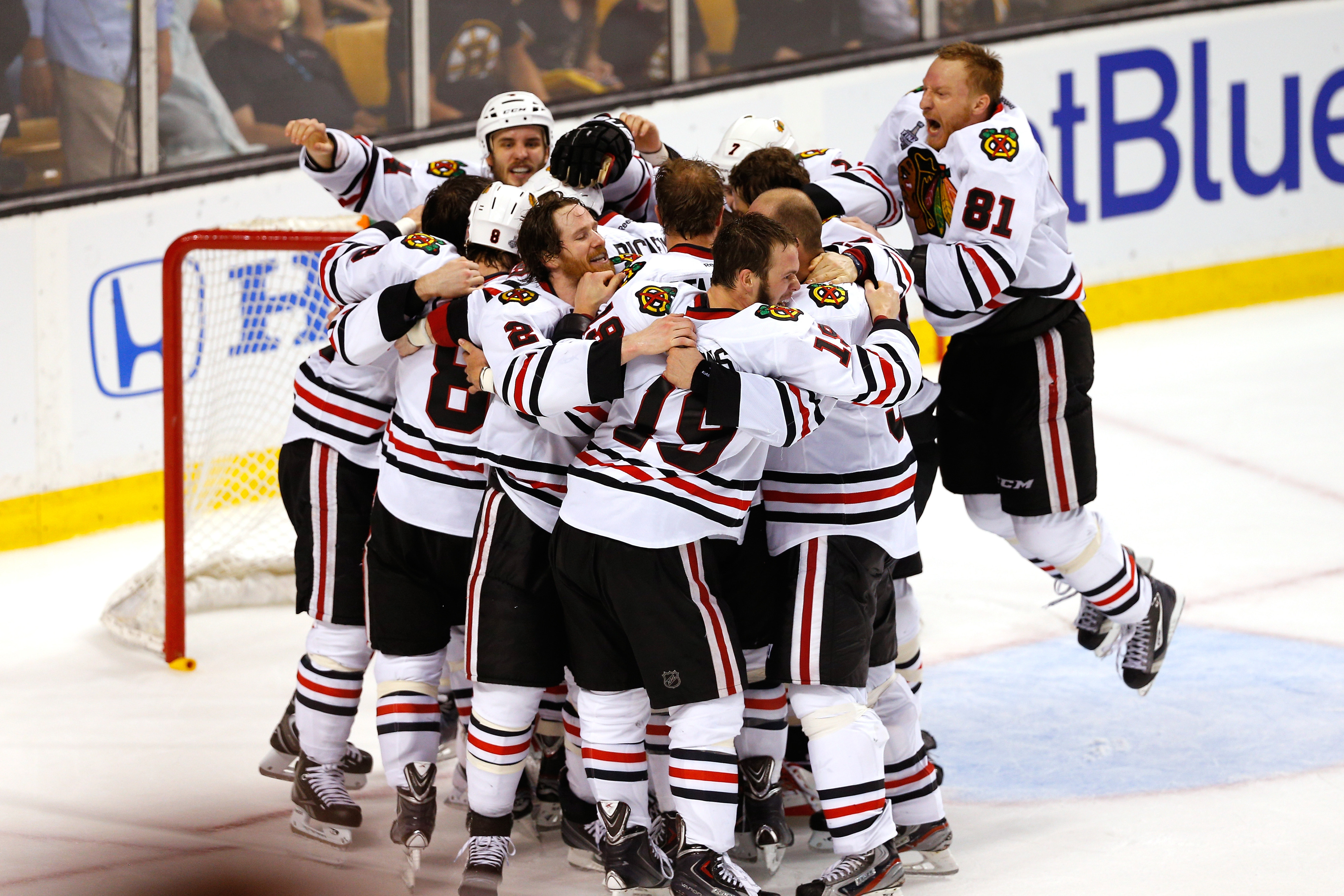 If you beat everyone except Anaheim, jump up and down for joy!
