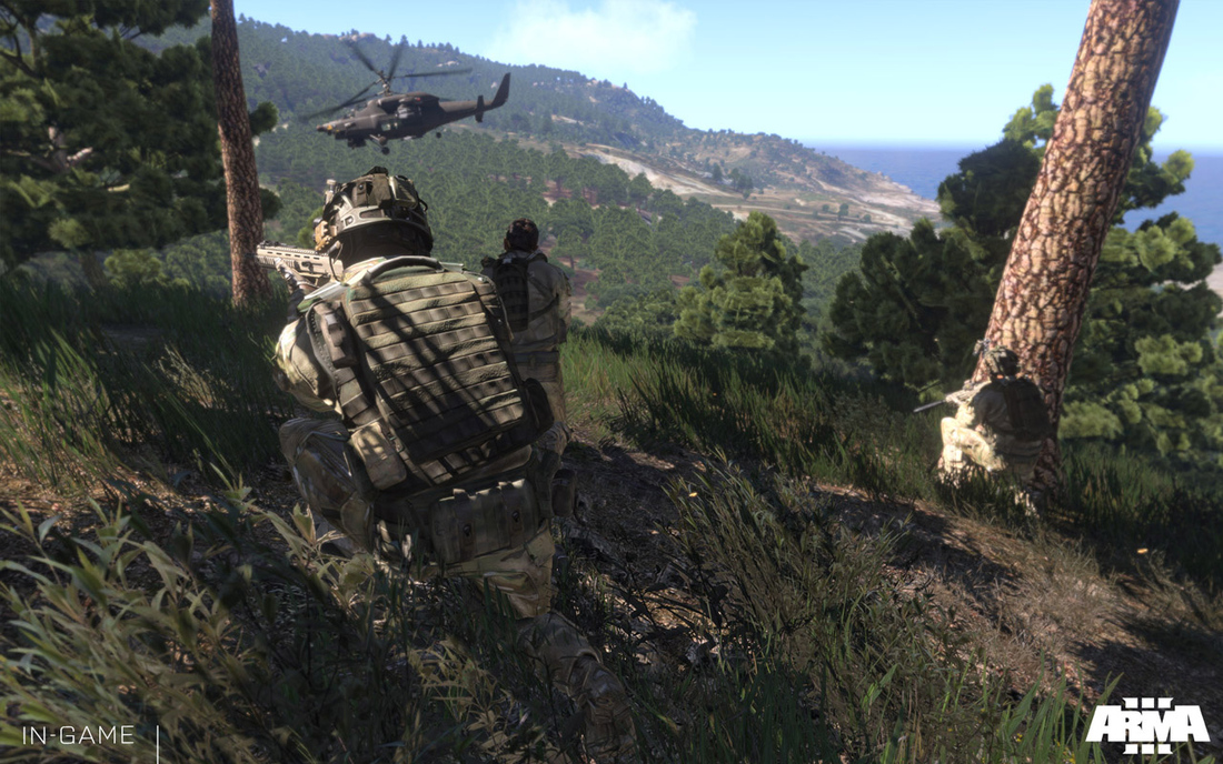 Arma 3 beta now live, three different digital bundles available