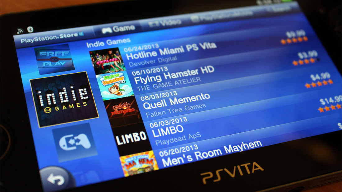 PS Vita Indie Games channel comes to PlayStation Store