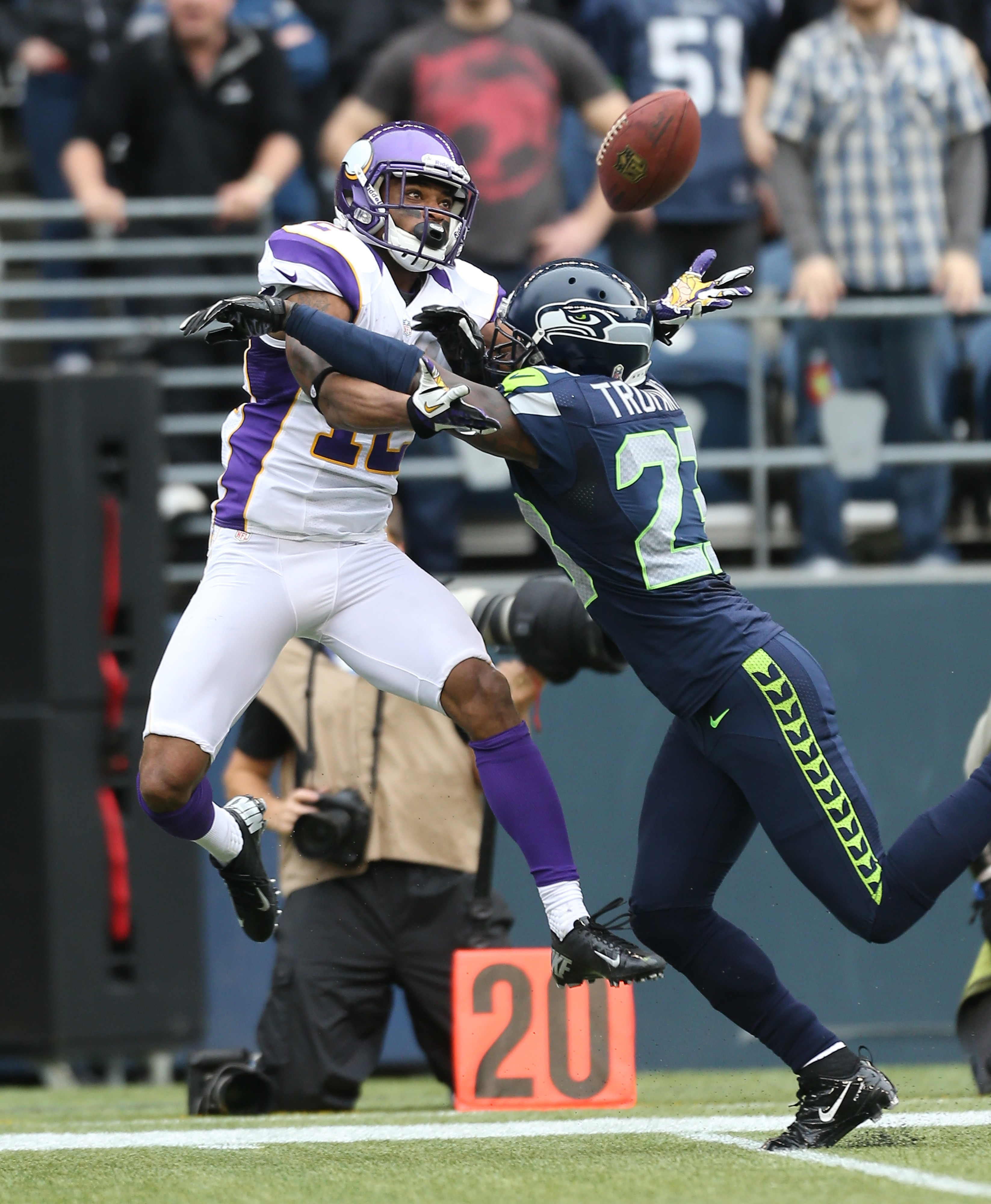 Percy Harvin impressed with fellow Seahawks receivers