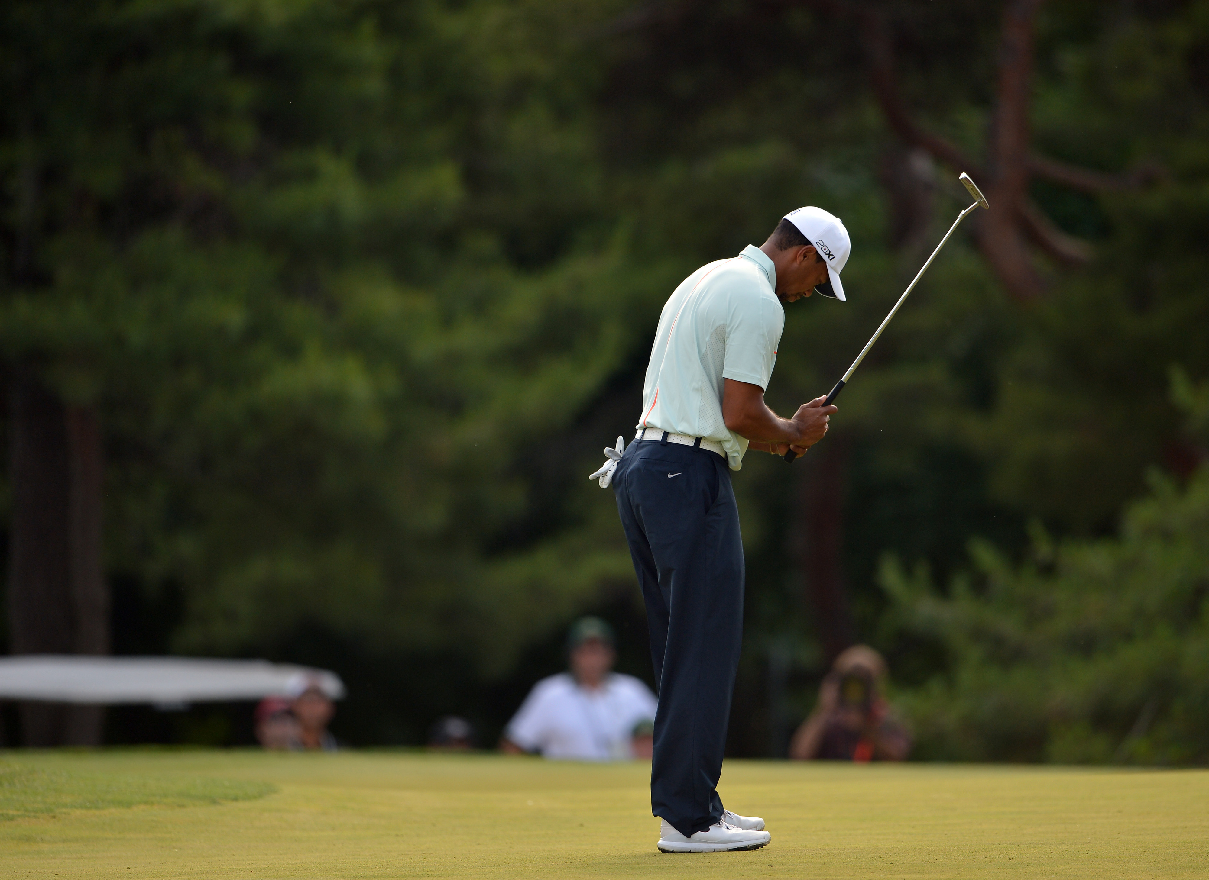 Tiger Woods hopes elbow will be 'good enough' to play British Open