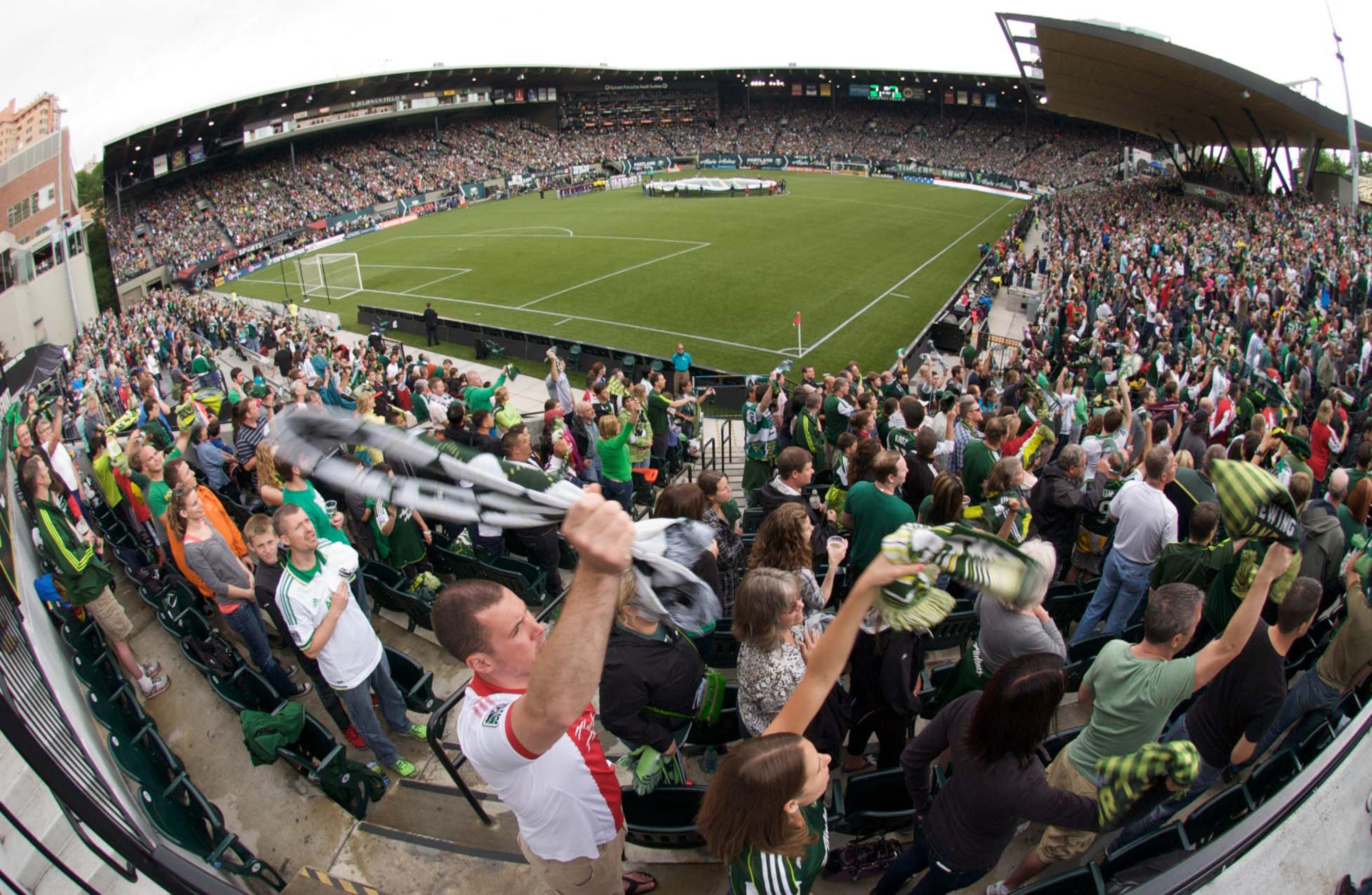 Portland Timber MLS fans