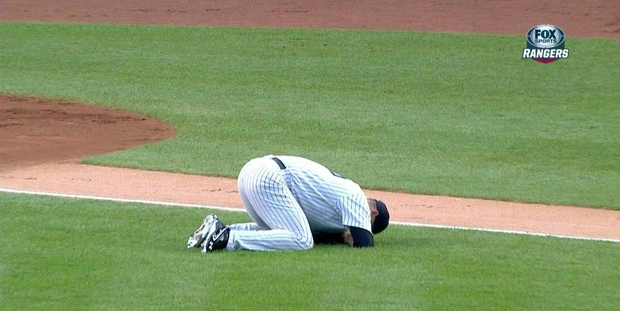 The Yankees display Astros-level defense