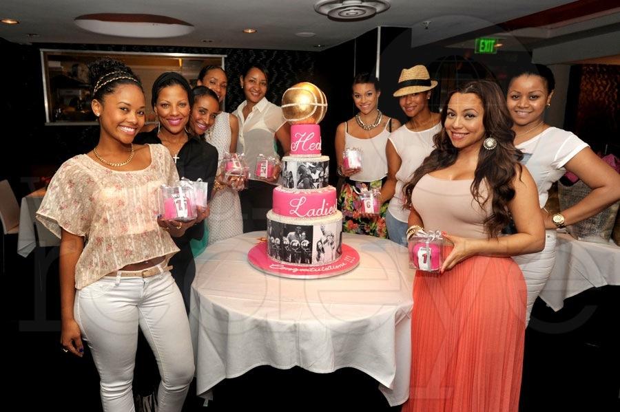 HEAT Ladies celebrate a successful season