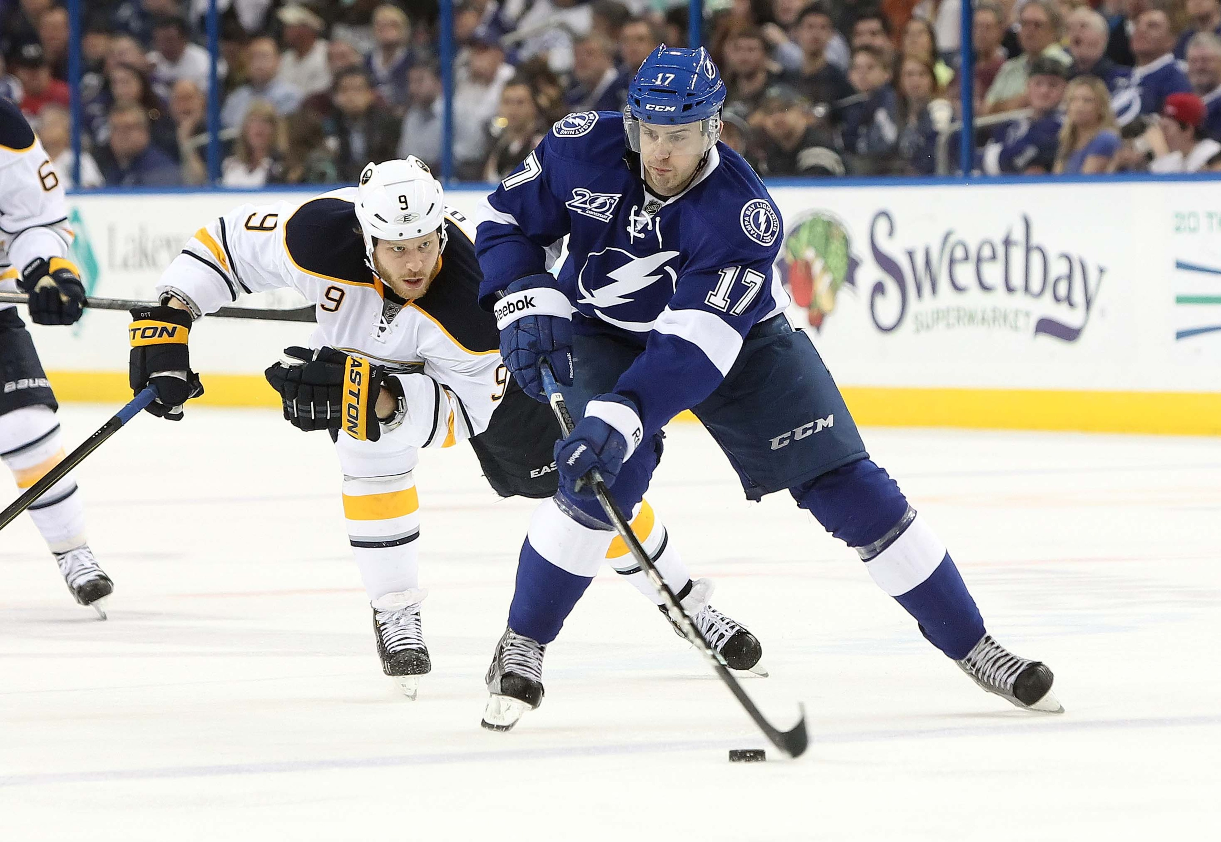 Alex Killorn is an option for the Tampa Bay Lightning to assume the 2nd line center role.