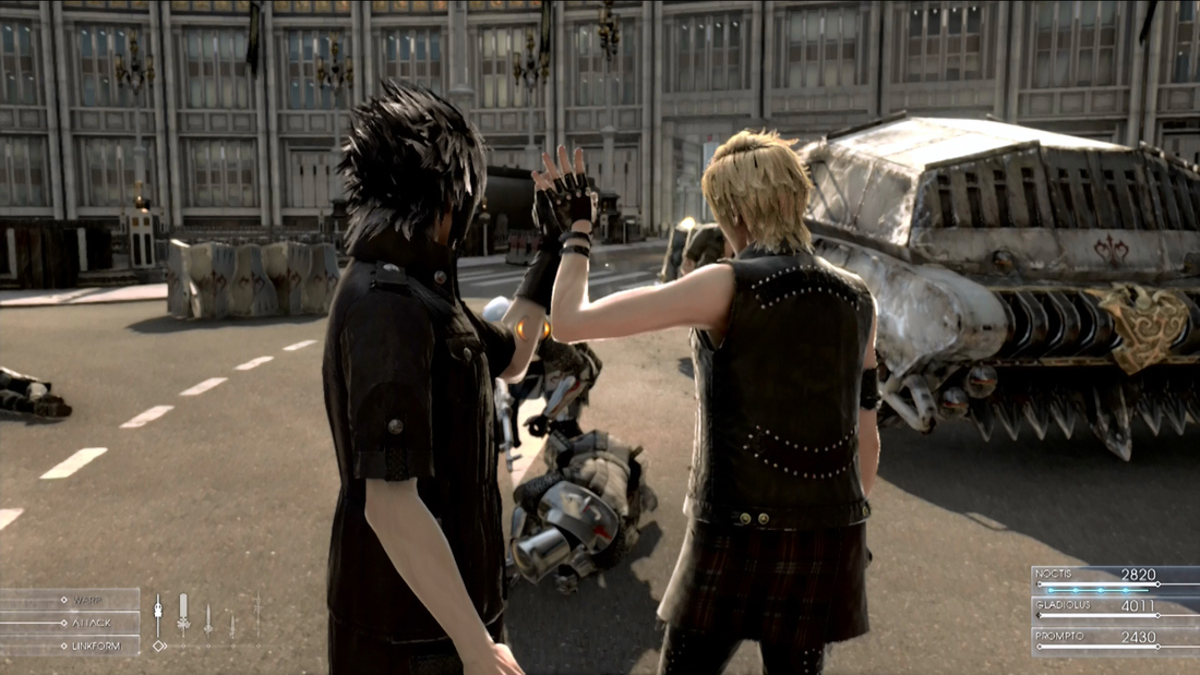 Tetsuya Nomura draws comparisons between Kingdom Hearts and Final Fantasy 15