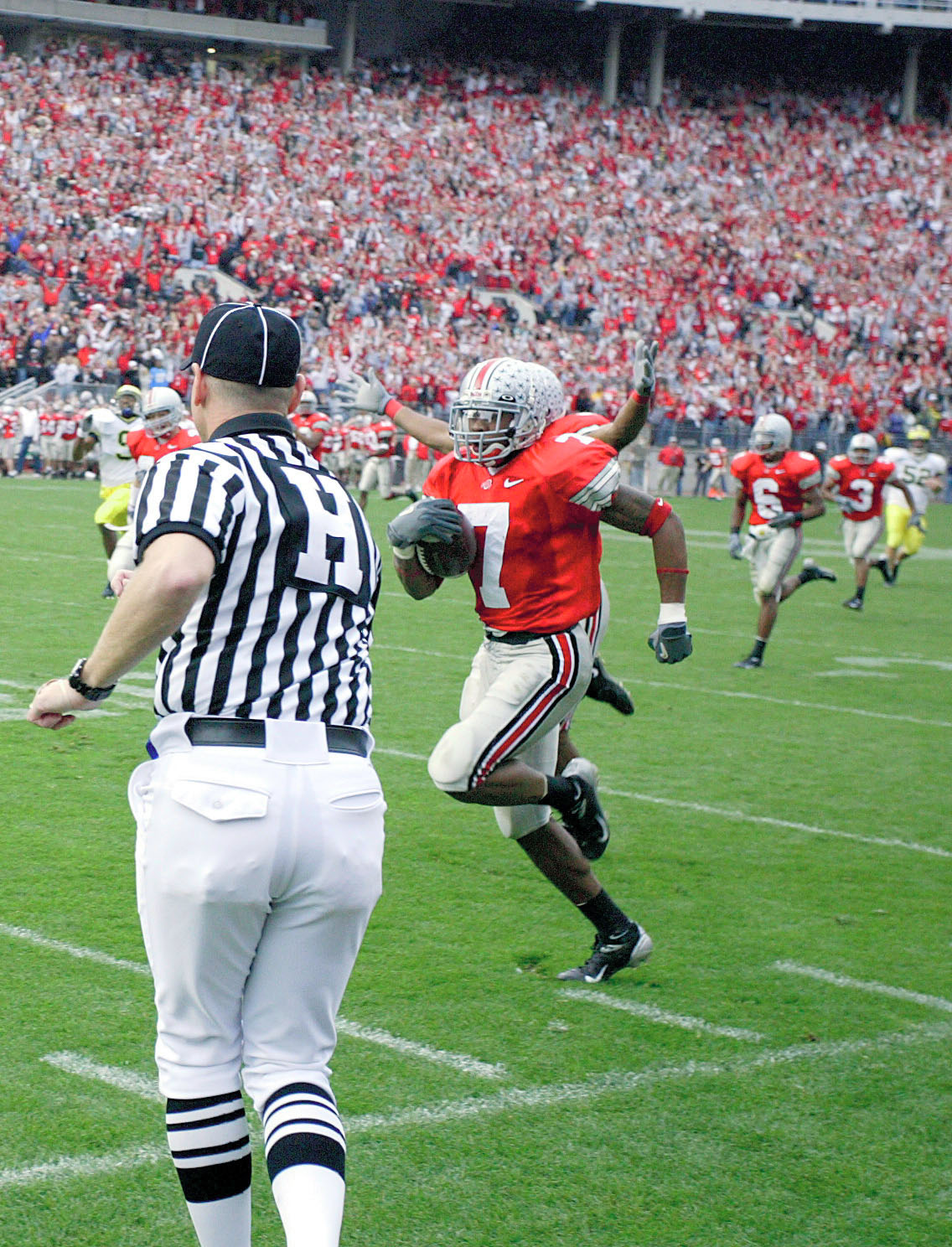 Ted Ginn Jr. housing a punt for six.