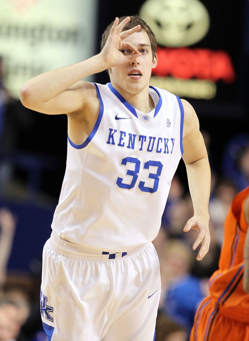 Kyle Wiltjer's recent talk of possibly transferring could have him finishing college outside Lexington ...