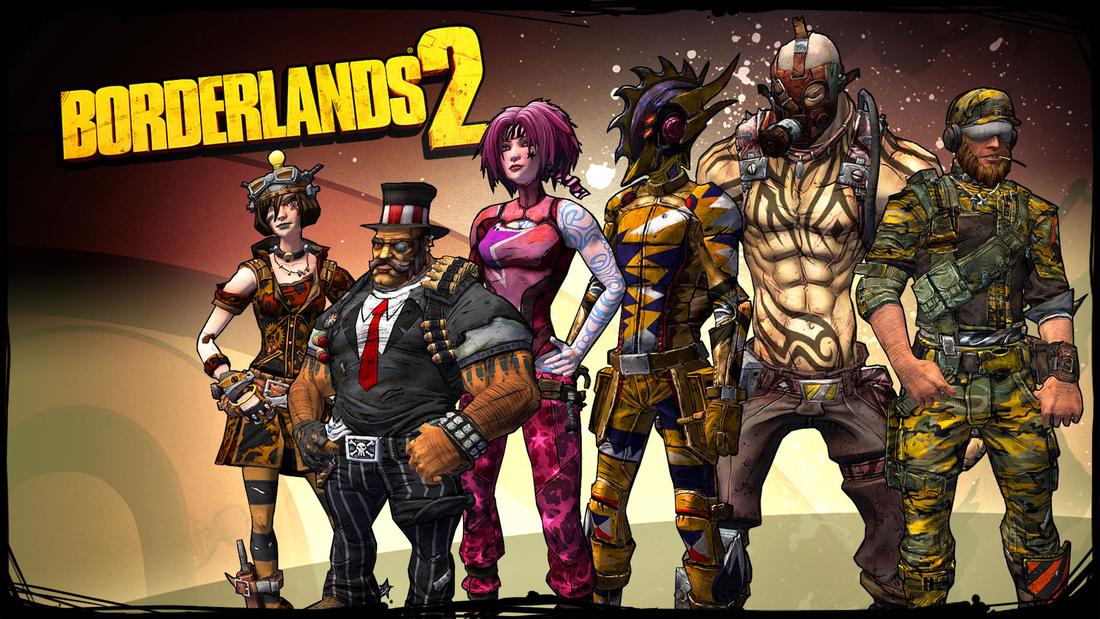 Borderlands 2 skins add nine new character customization options