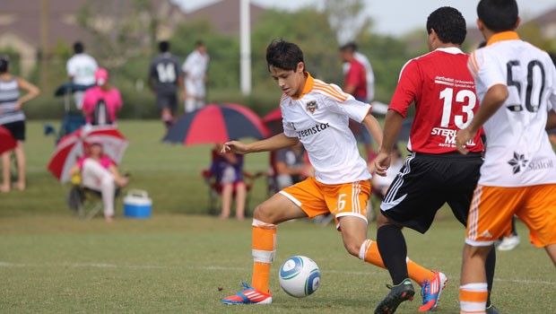 Christian Lucatero will try and help the Dynamo U-16's advance to the Academy Championship