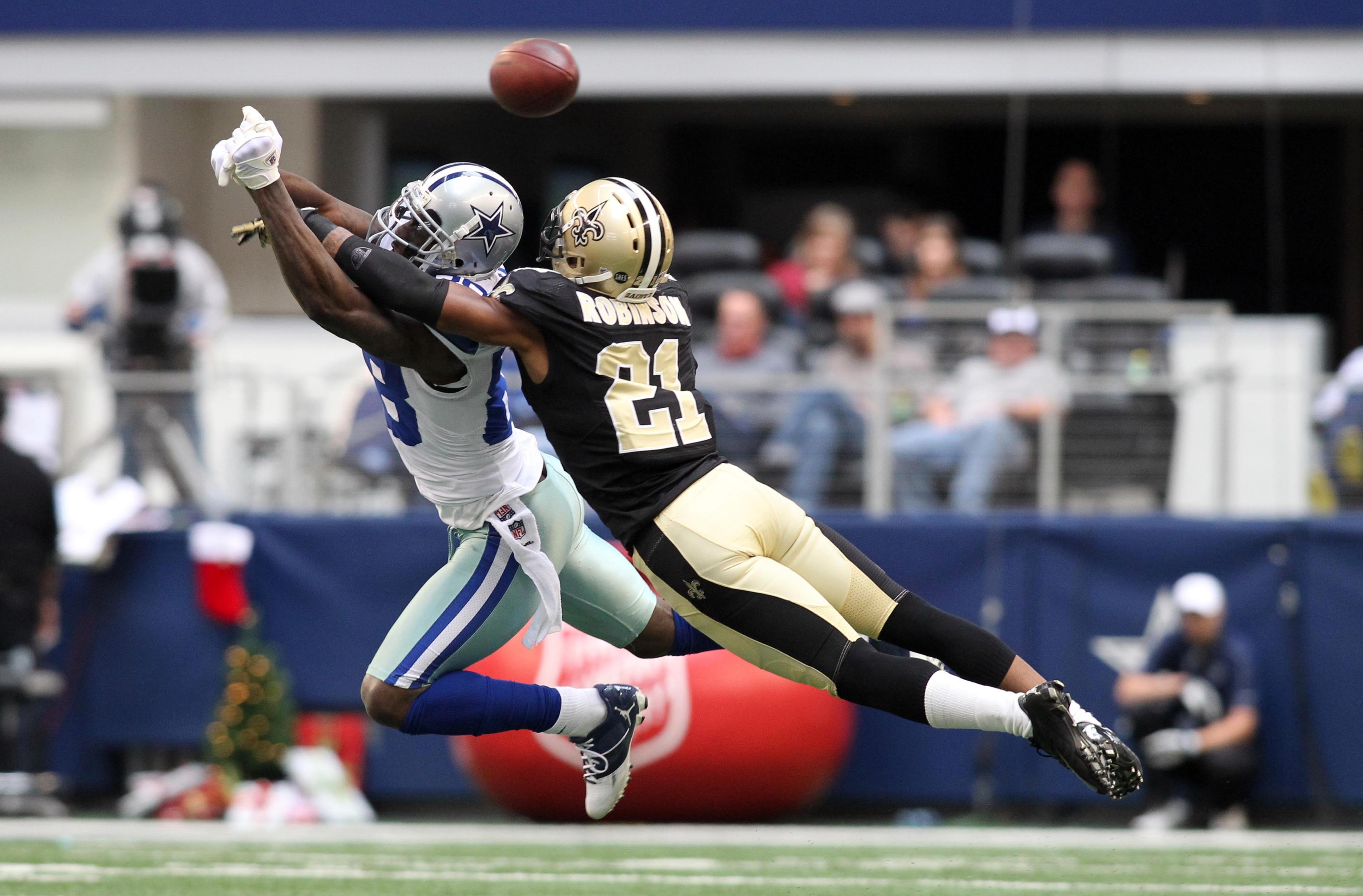 Robinson had a miserable performance against the Cowboys last season.