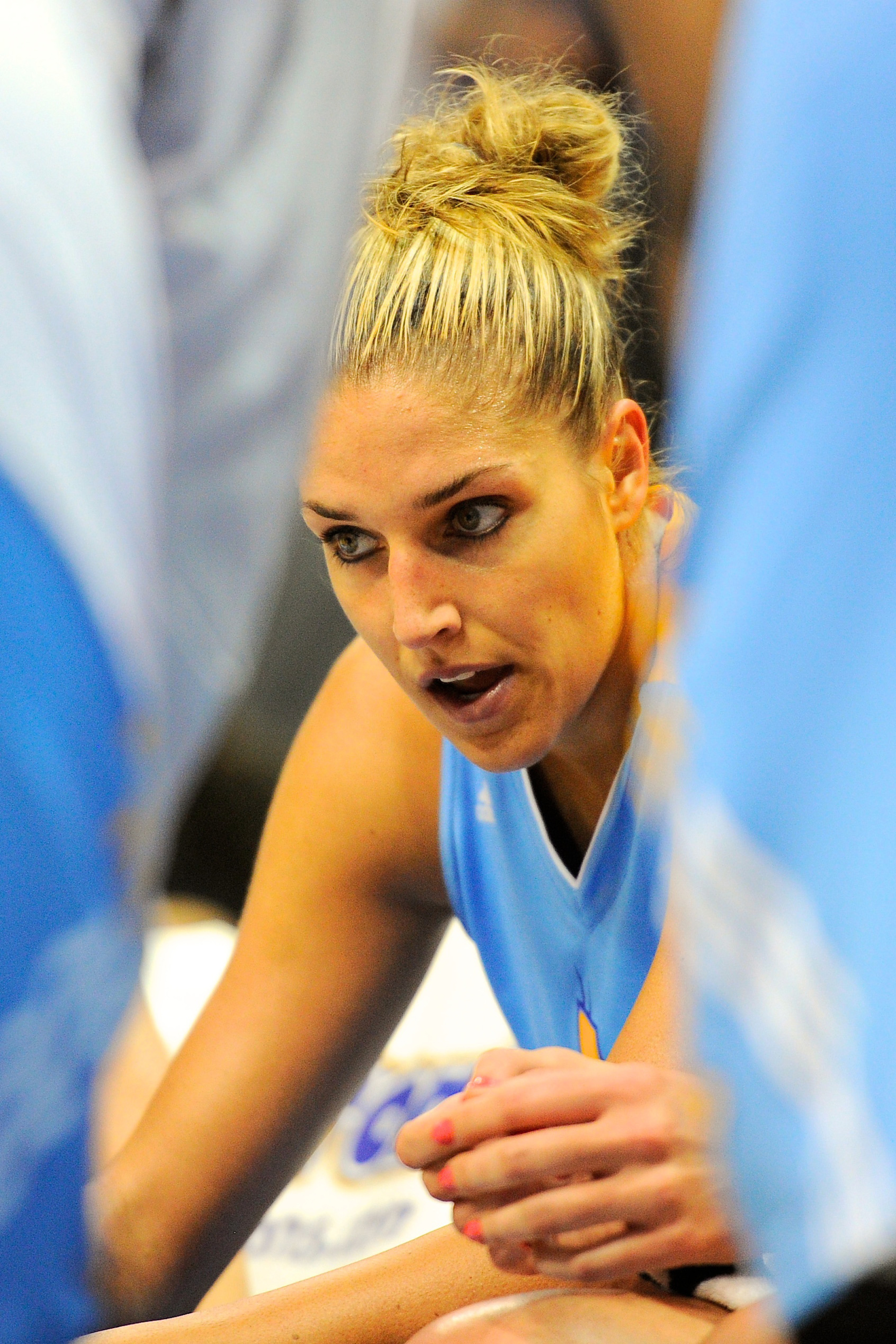 Elena Delle Donne is already among the WNBA's top players as a rookie.