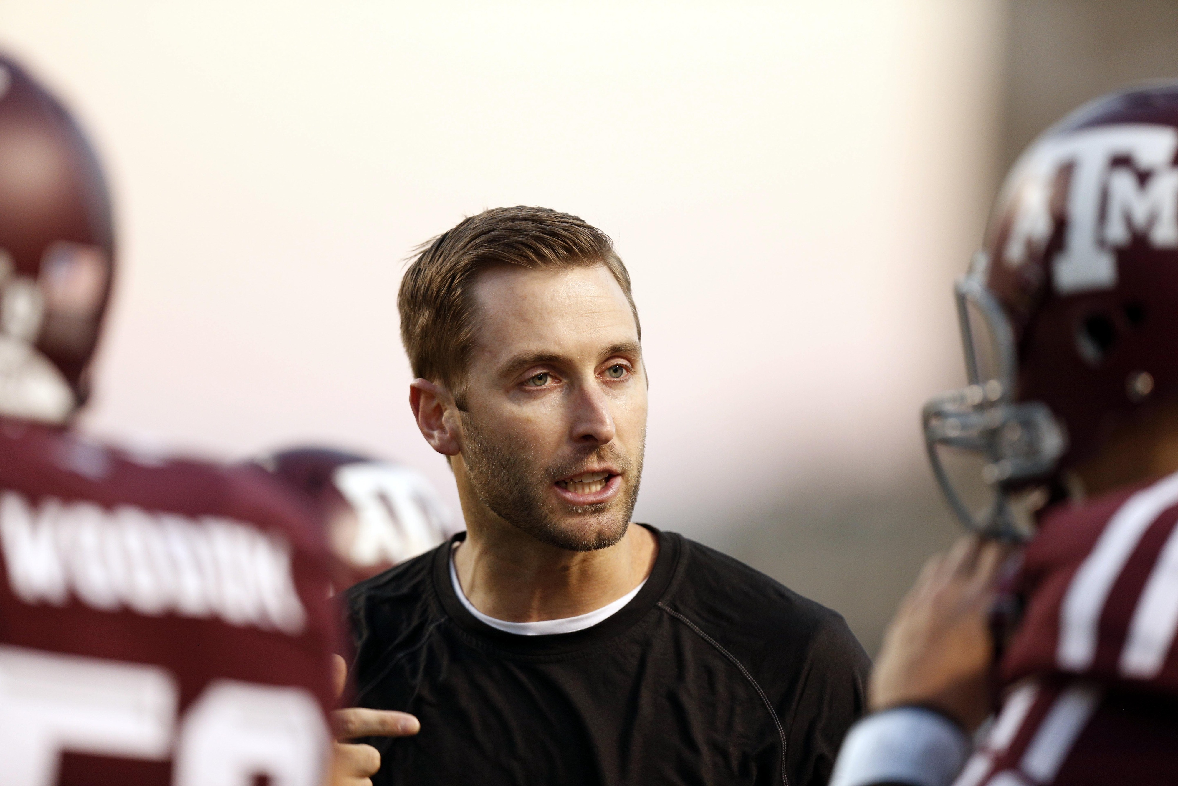 Kliff Kingsbury - Texas Tech head coach and Bradley Cooper/Ryan Gosling's lovechild.
