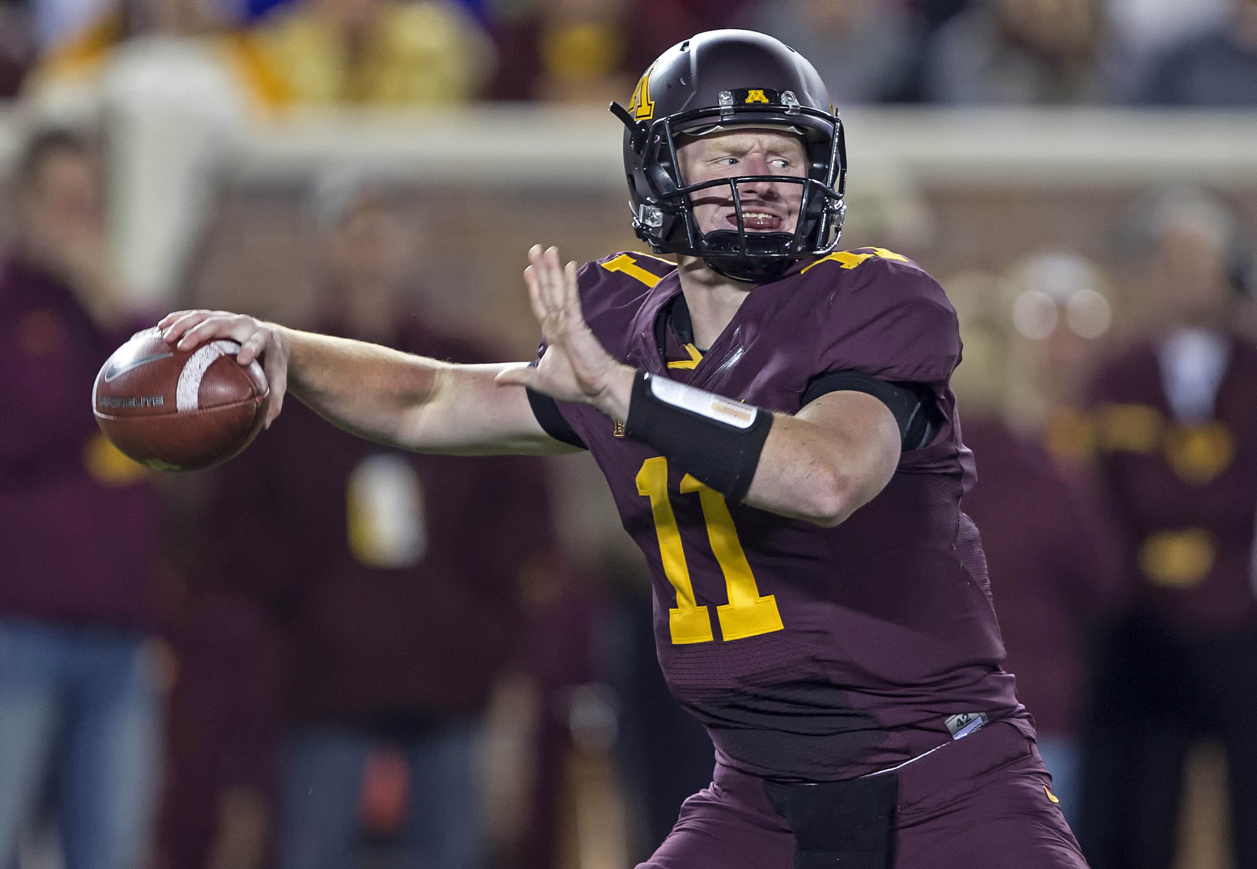 With MarQueis Gray once again nicked up, Max Shortell (above) could start at quarterback against Wisconsin.