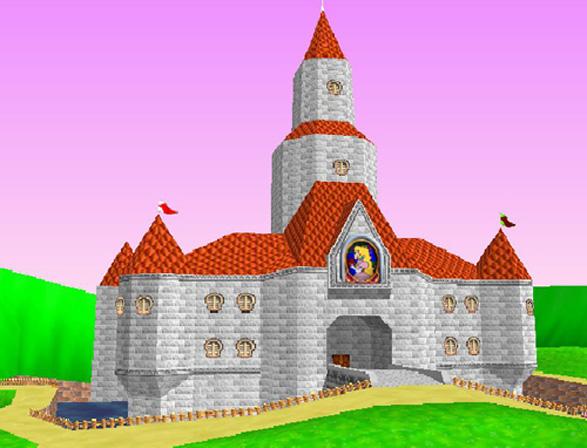 Princess Peach's Mario Super Mario 64 castle would be worth almost $1 billion