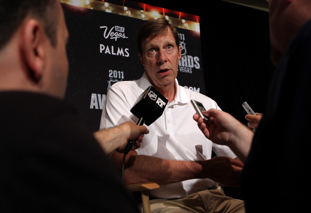 Was last Friday's work the first step towards returning David Poile to the NHL Awards?