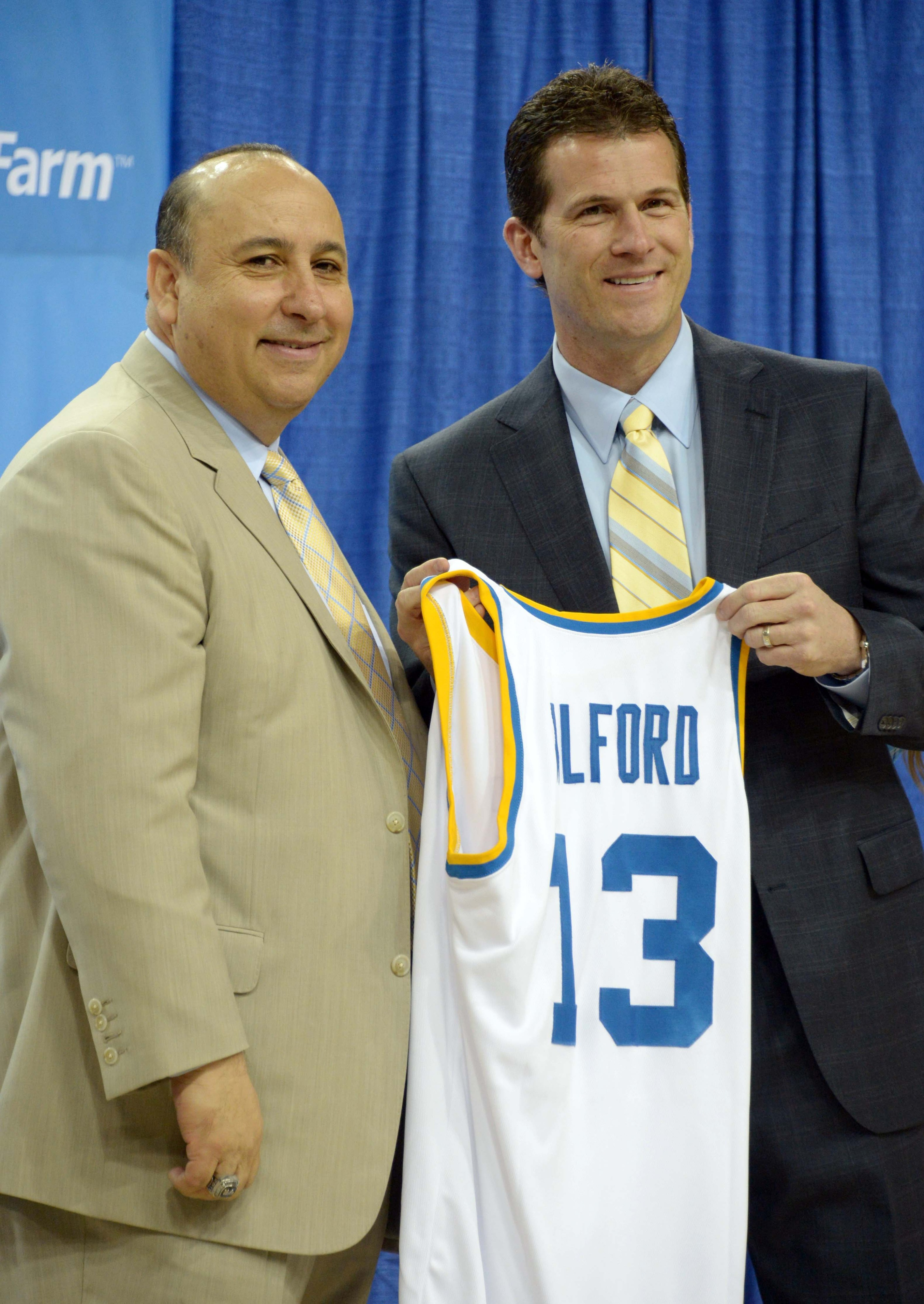 Of course Alford is smiling: he snuck in an extra $645K into his signing bonus!