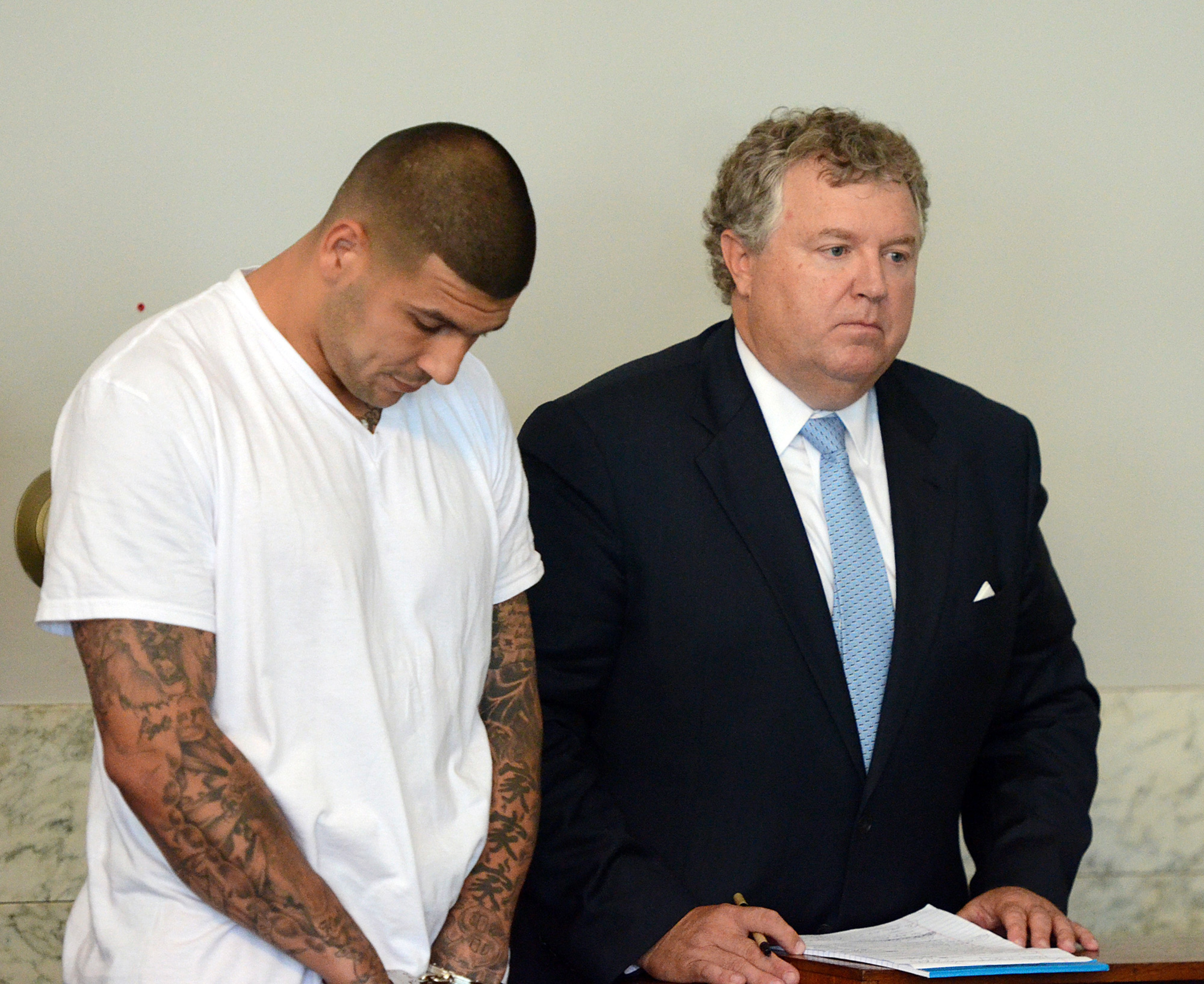 Aaron Hernandez told associate he shot Odin Lloyd, per court documents