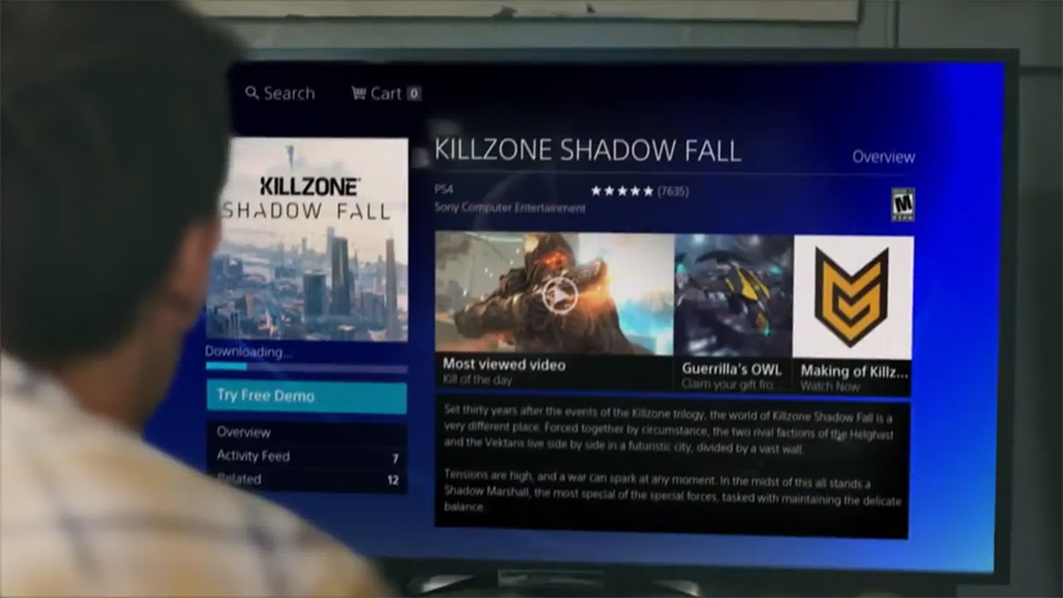 PS4 allows for access to digital game library from any console (correction)