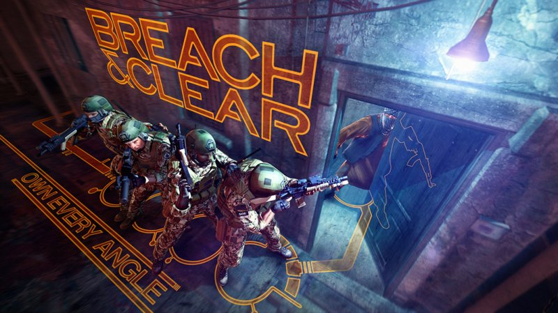 Breach and Clear distills the tactical shooter down to its essence