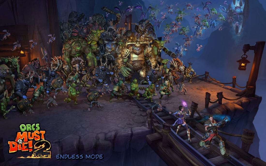 Orcs Must Die! 2 introduces Steam workshop support