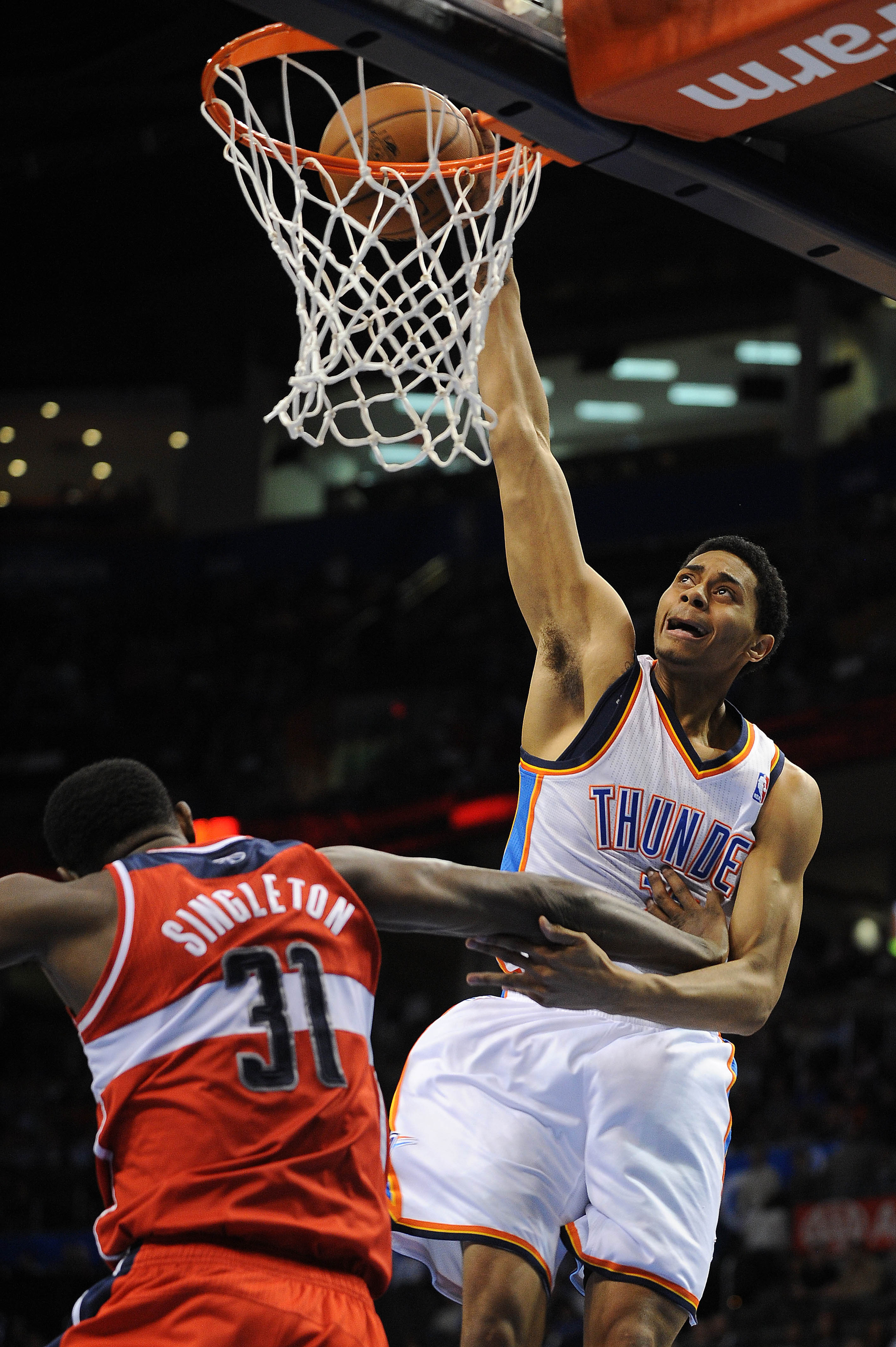This is a very excellent dunk face.