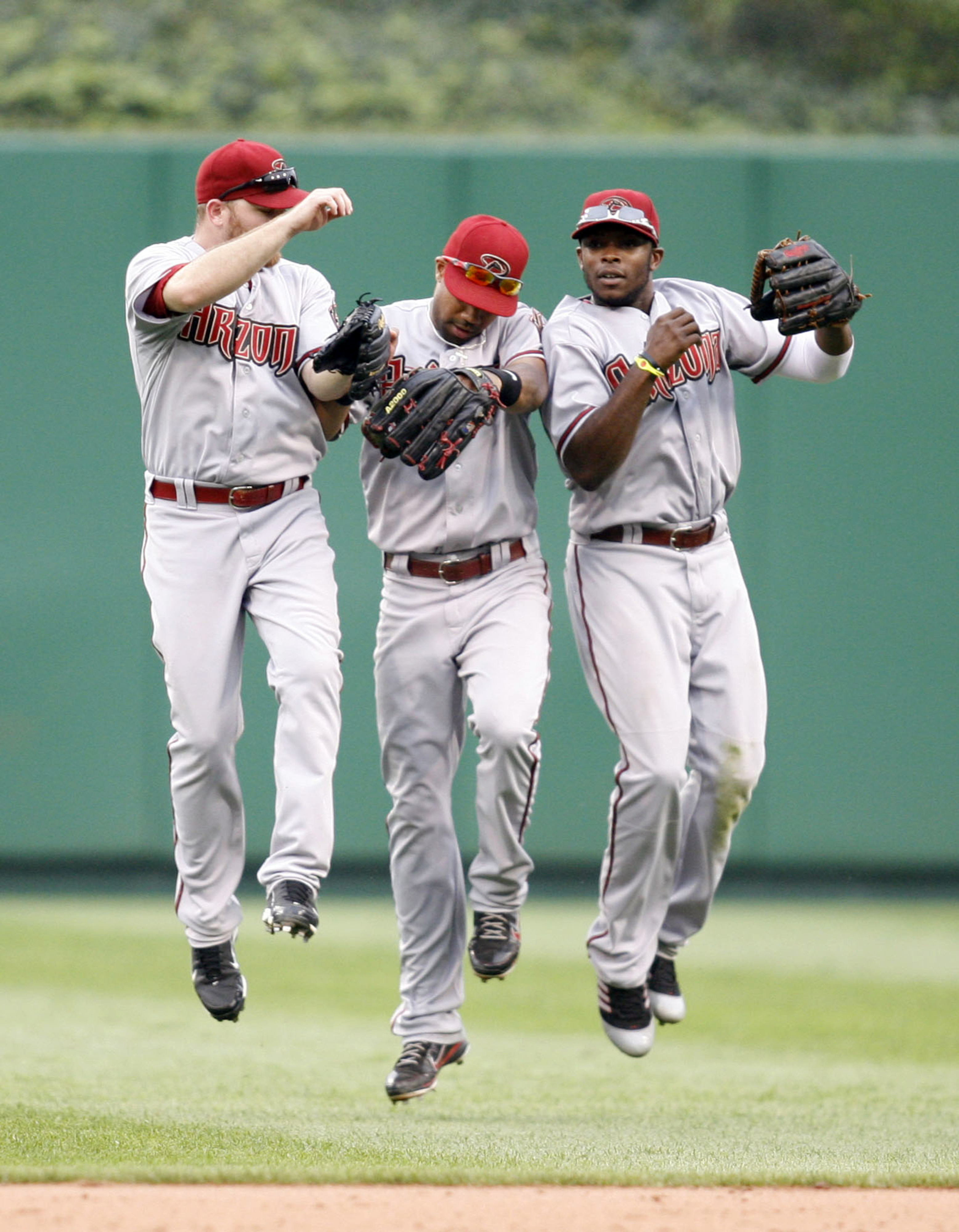Could one of these Diamondbacks outfielders sport orange and blue come 2013?