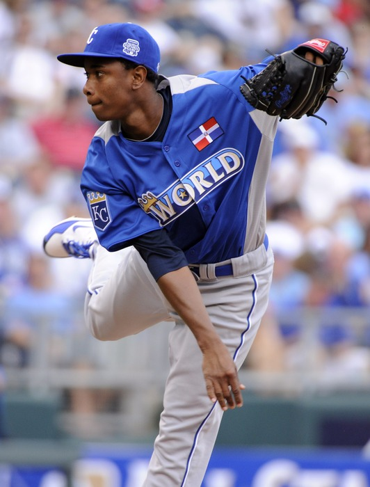 Yordano Ventura should dominate in his inning of work this Sunday in the Futures Game.