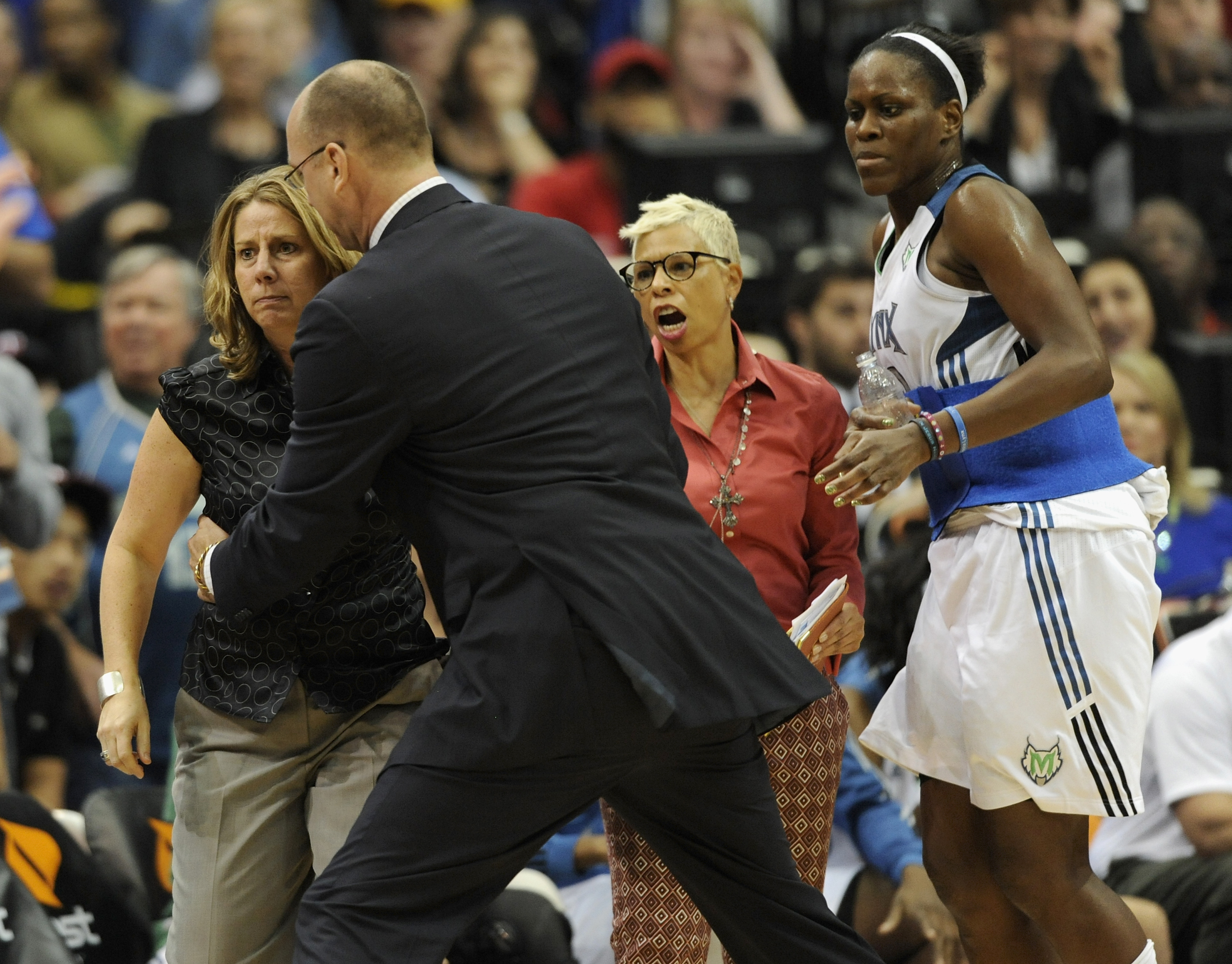 Coach Reeve unleashed the fury in Game 2 to help her team settle a score against the Fever (and the refs), but will she have to do it again tonight?