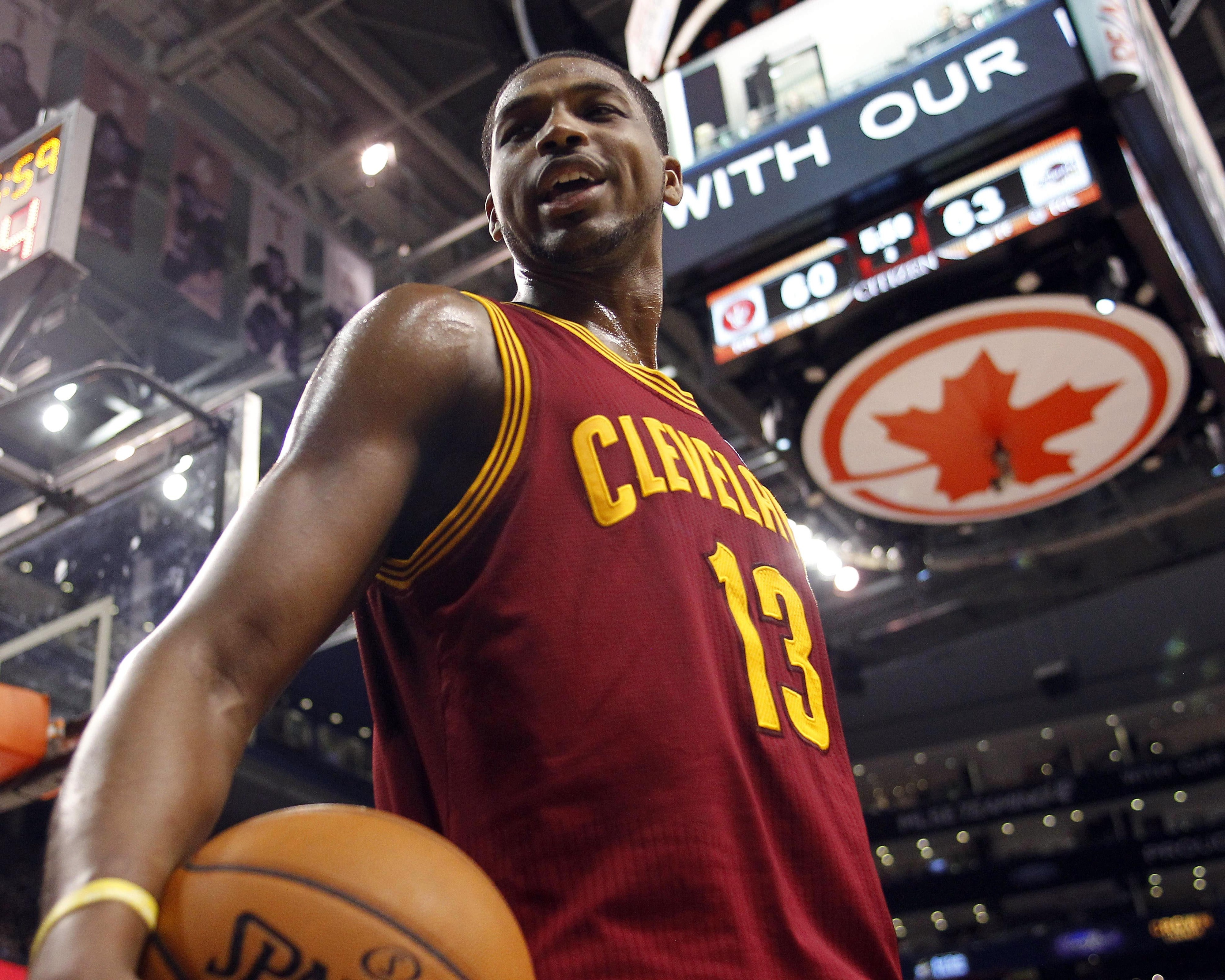 Like ODB, Tristan Thompson is all about the children ...