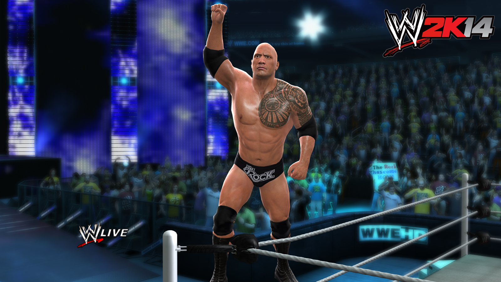 WWE 2K14's transition from THQ to 2K has had limited effects so far